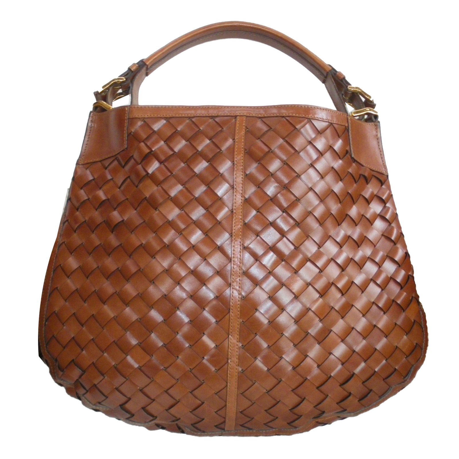 Burberry Handbags Handbags Leather Brown ref.64275 - Joli Closet 2f72cb6efd