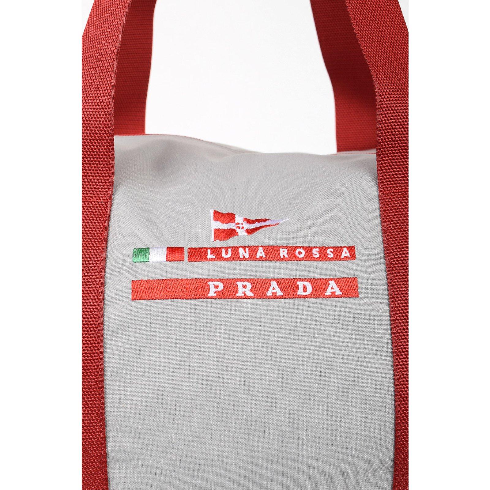 54d6fe7e0c23 Prada Luna Rossa Duffle bag new Bags Briefcases Nylon Grey ref.64865 - Joli  Closet
