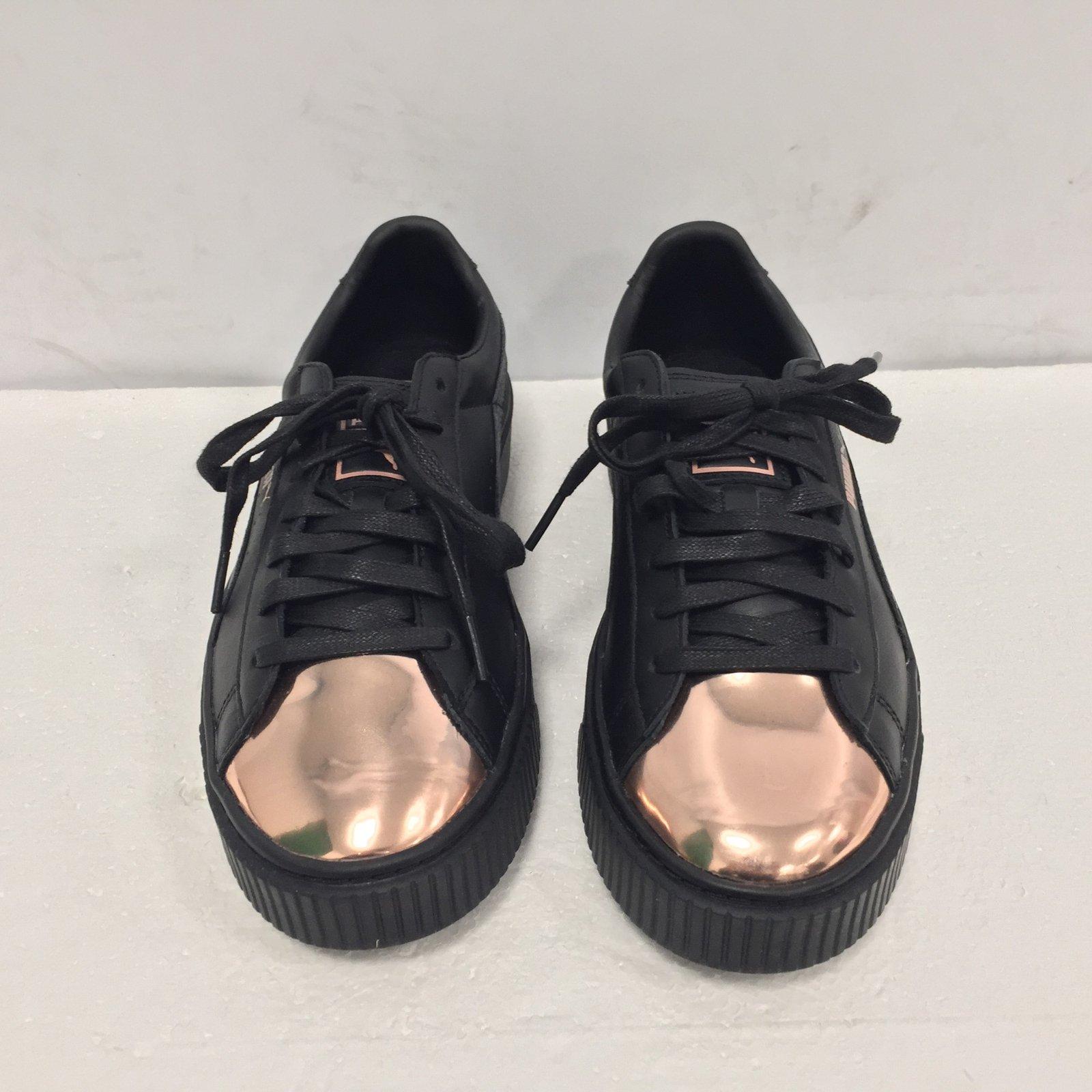 a01b6ee6e2c Puma Sneakers Sneakers Leather Black ref.65394 - Joli Closet