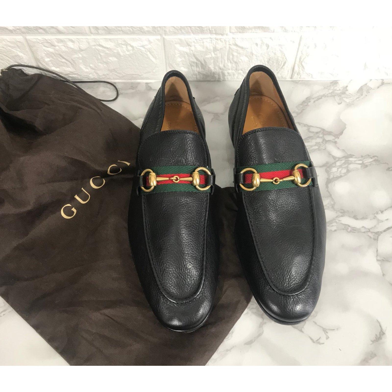 Mocassins homme Gucci Mocassins Gucci neufs en cuir Cuir Noir ref.66194 -  Joli Closet c5364250088