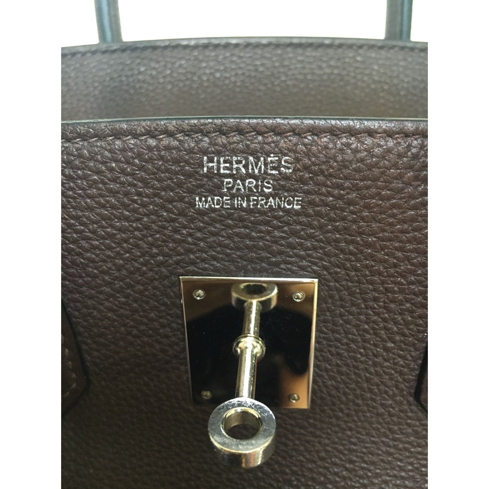fd9cd9548c ... clearance hermès birkin 35 togo handbags leather dark brown ref.66655 joli  closet c1c74 ffb2d