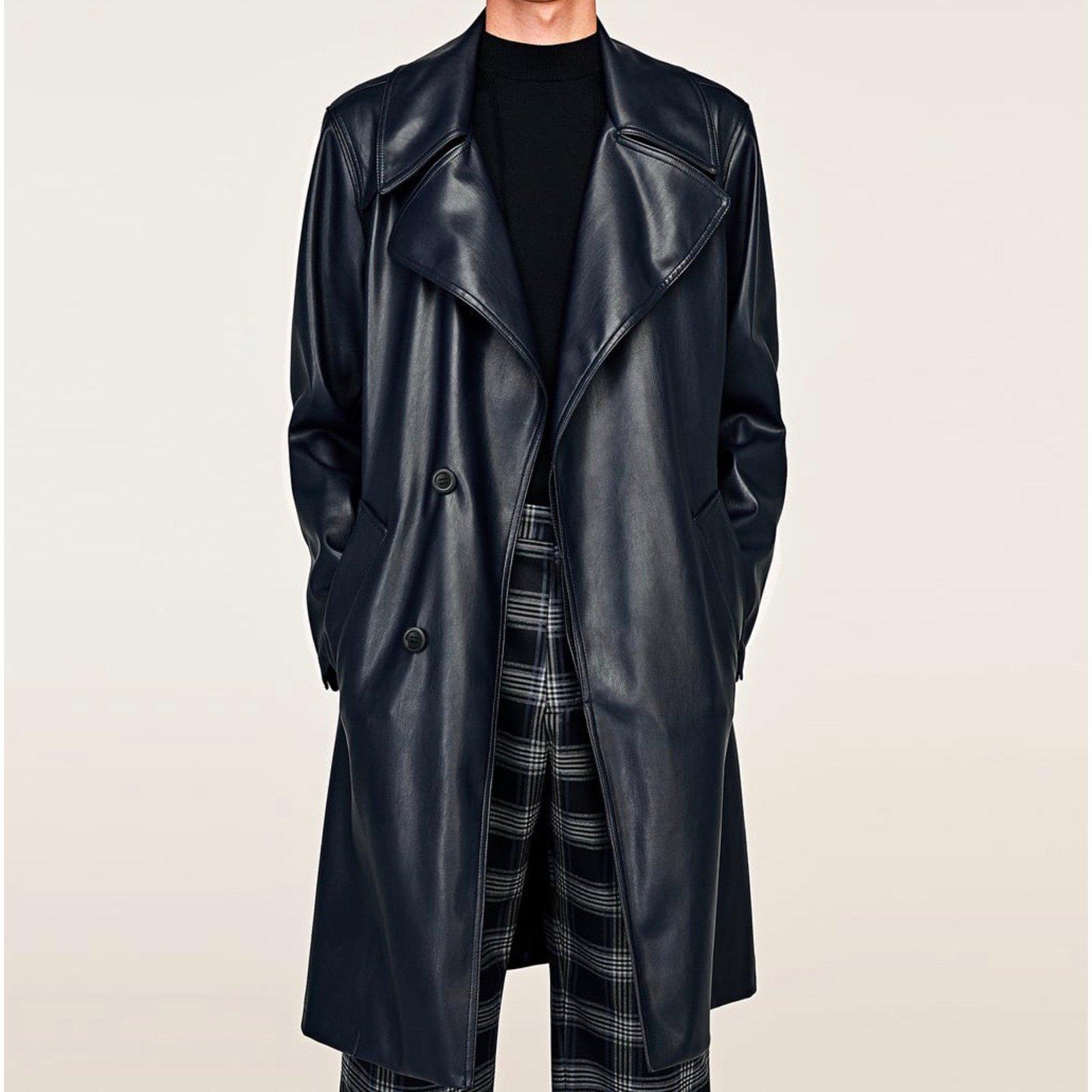 bc3e2140 Zara Men Coat Men Coats Outerwear Other Blue ref.67297 - Joli Closet