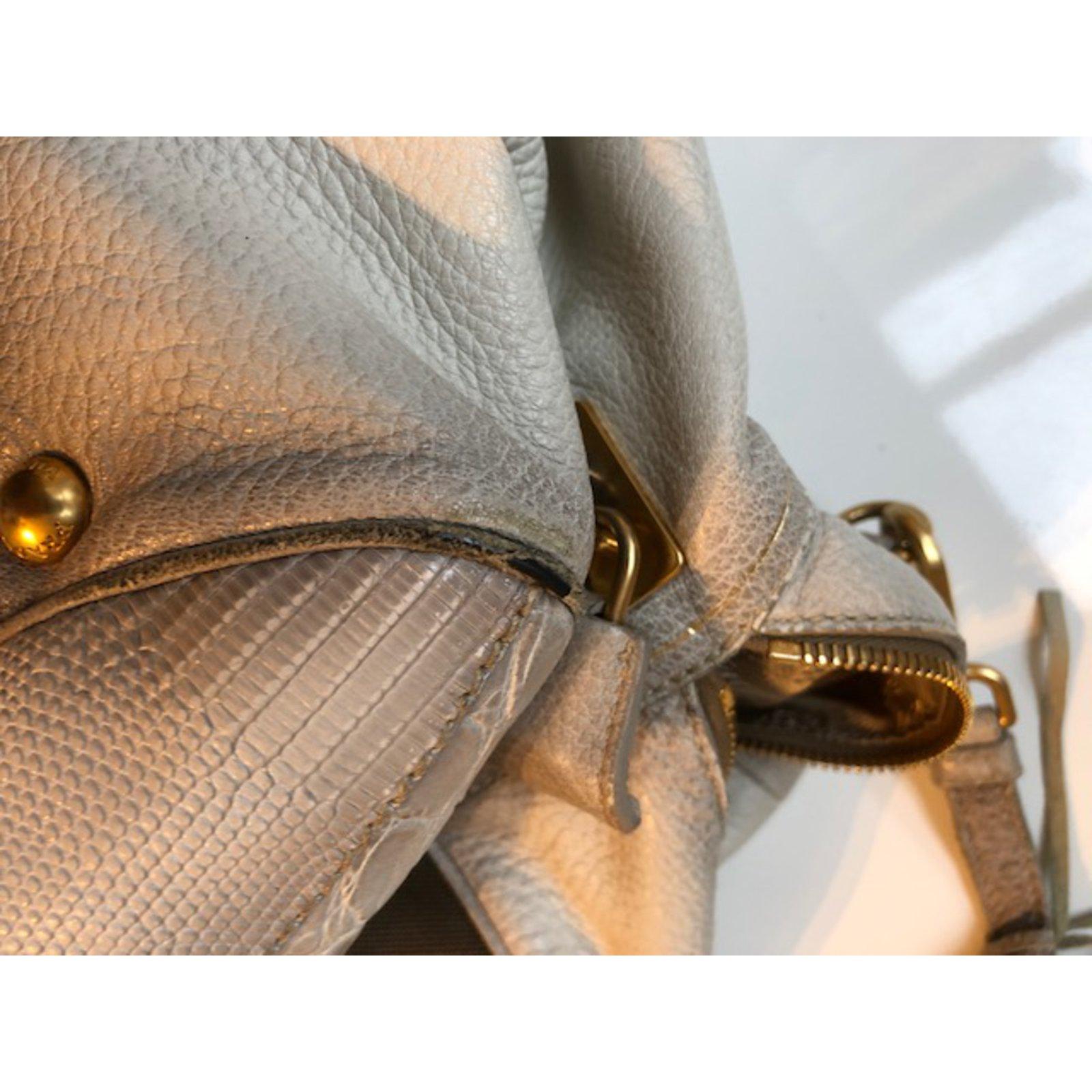 37ae7d5fca Prada Handbags Handbags Cloth Beige ref.67874 - Joli Closet