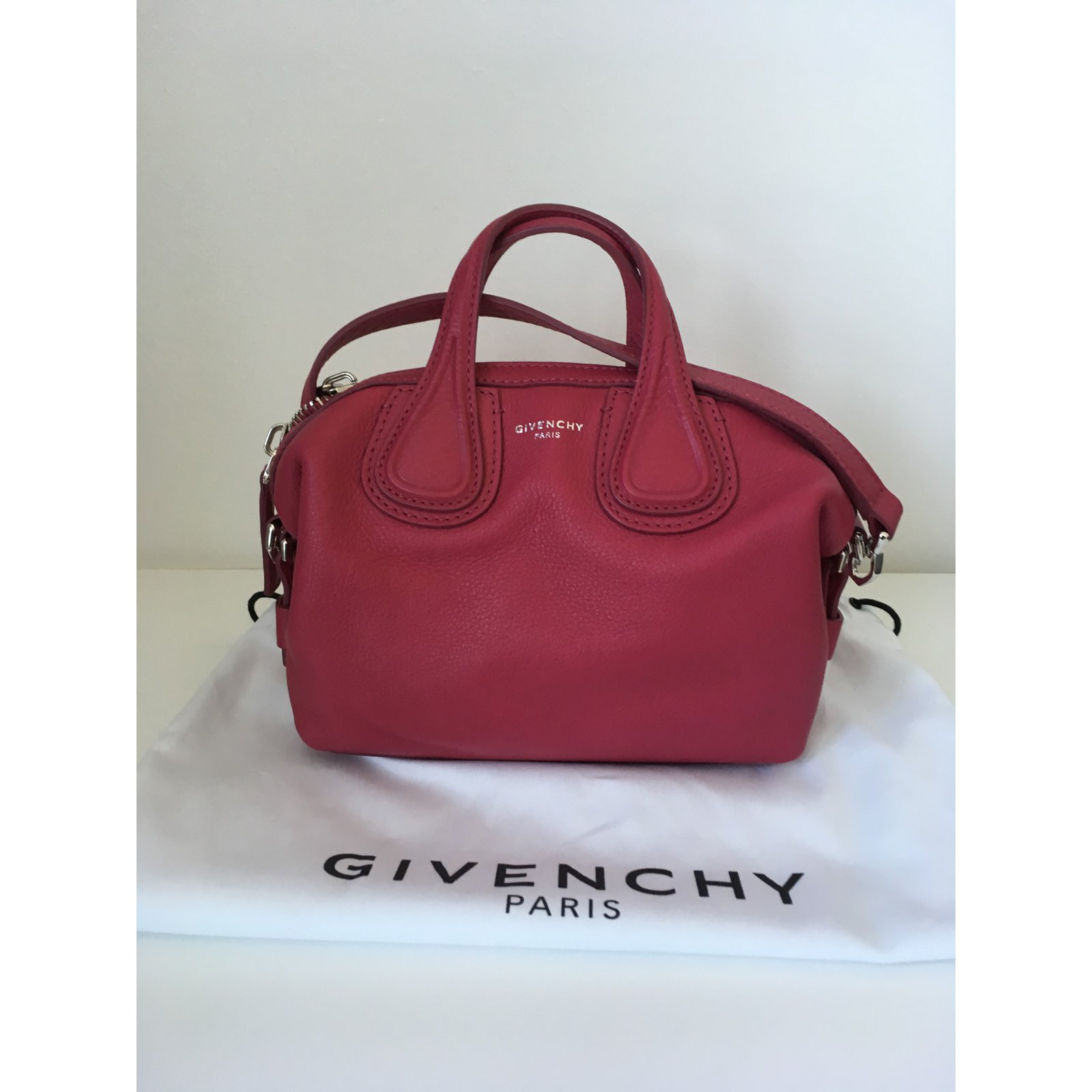 082ca2c86e Facebook · Pin This. Givenchy Nightingale Micro Handbags Leather Pink ref .68087