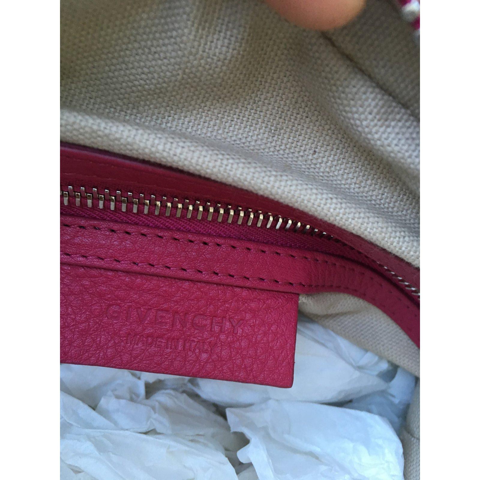 3c04336a47 Givenchy Nightingale Micro Handbags Leather Pink ref.68087 - Joli Closet