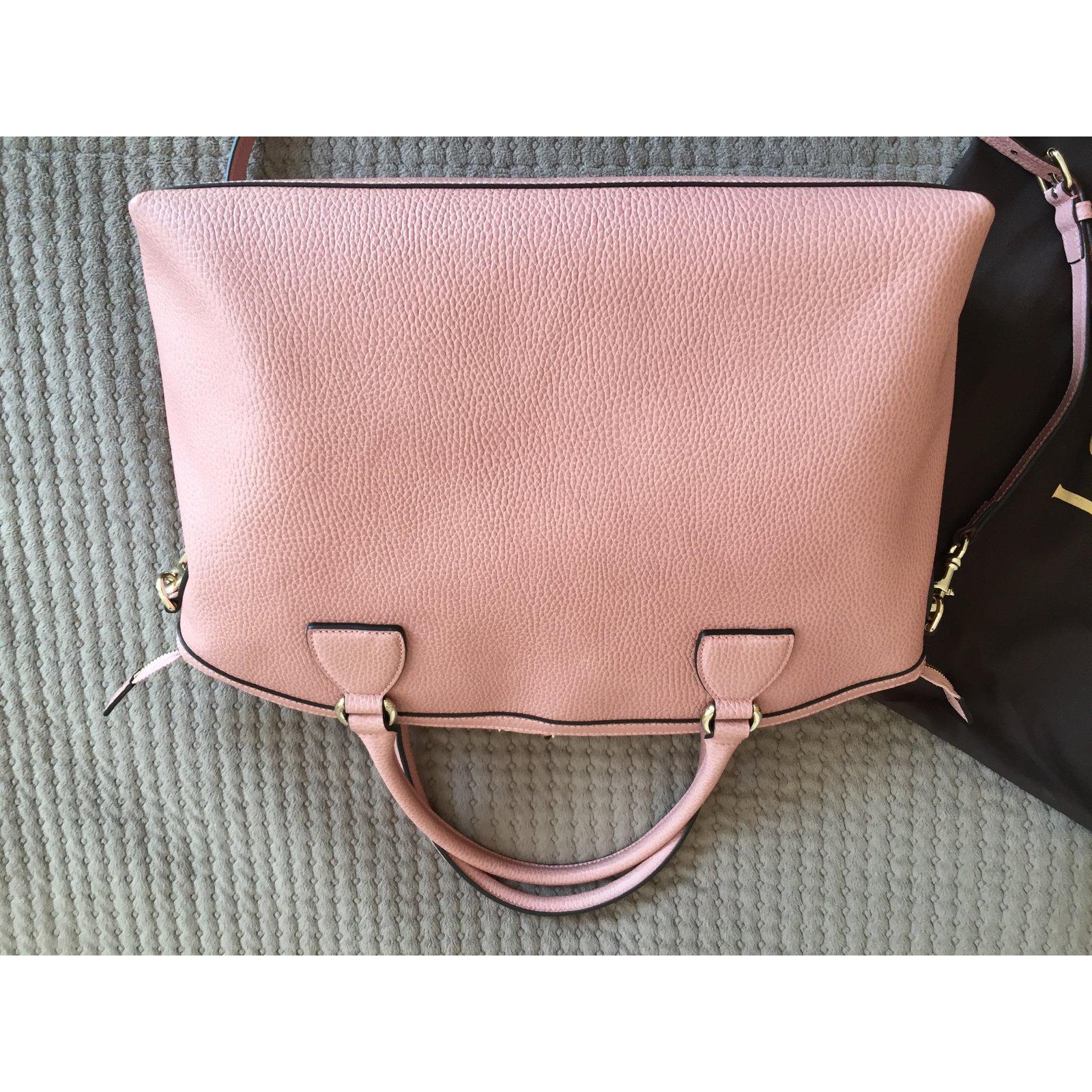 62585c8053b Gucci Gucci light pink leather bag-Brand New Totes Leather Pink ref.68145 -  Joli Closet