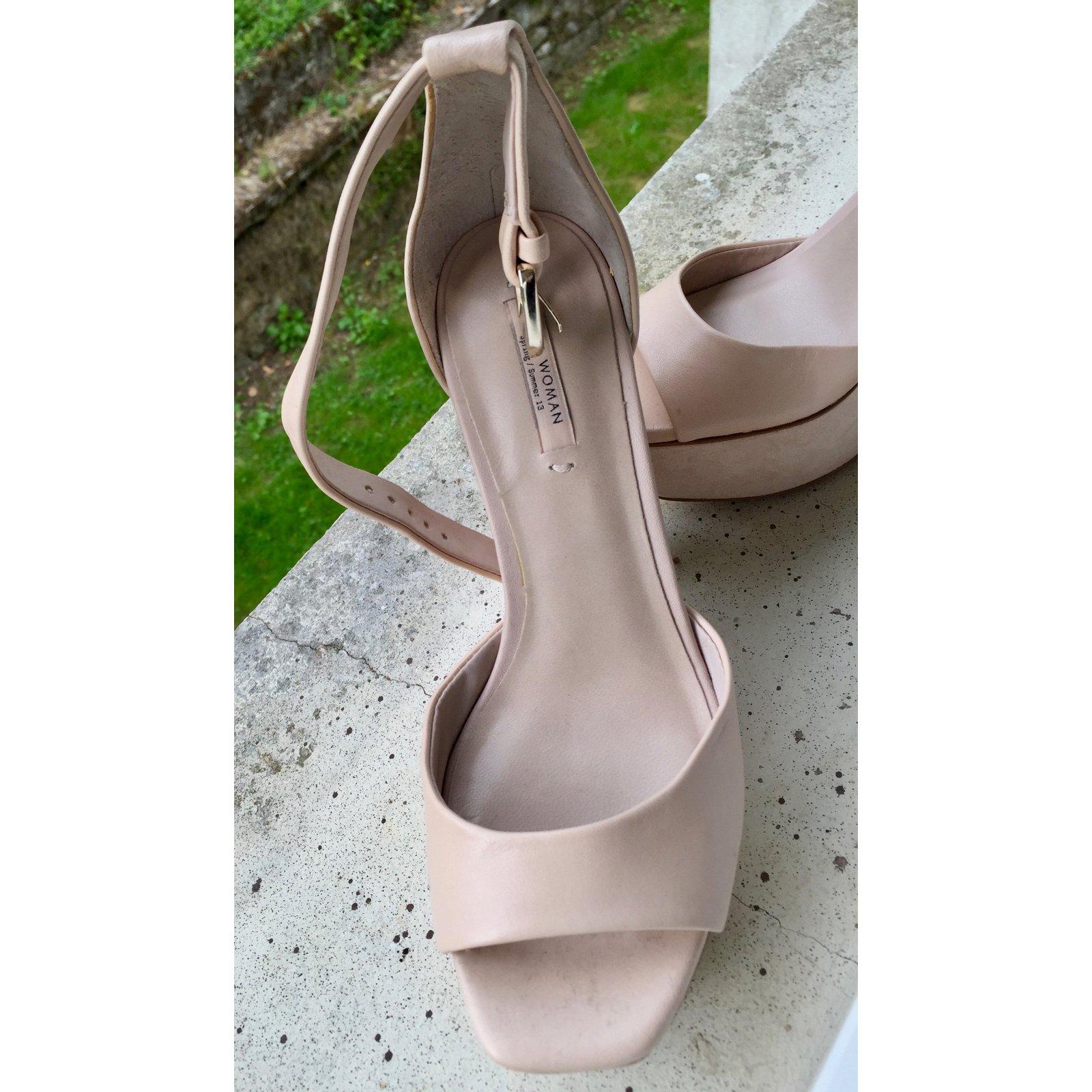 Zara High Heels Summer Sandals 2018 9E2IHD