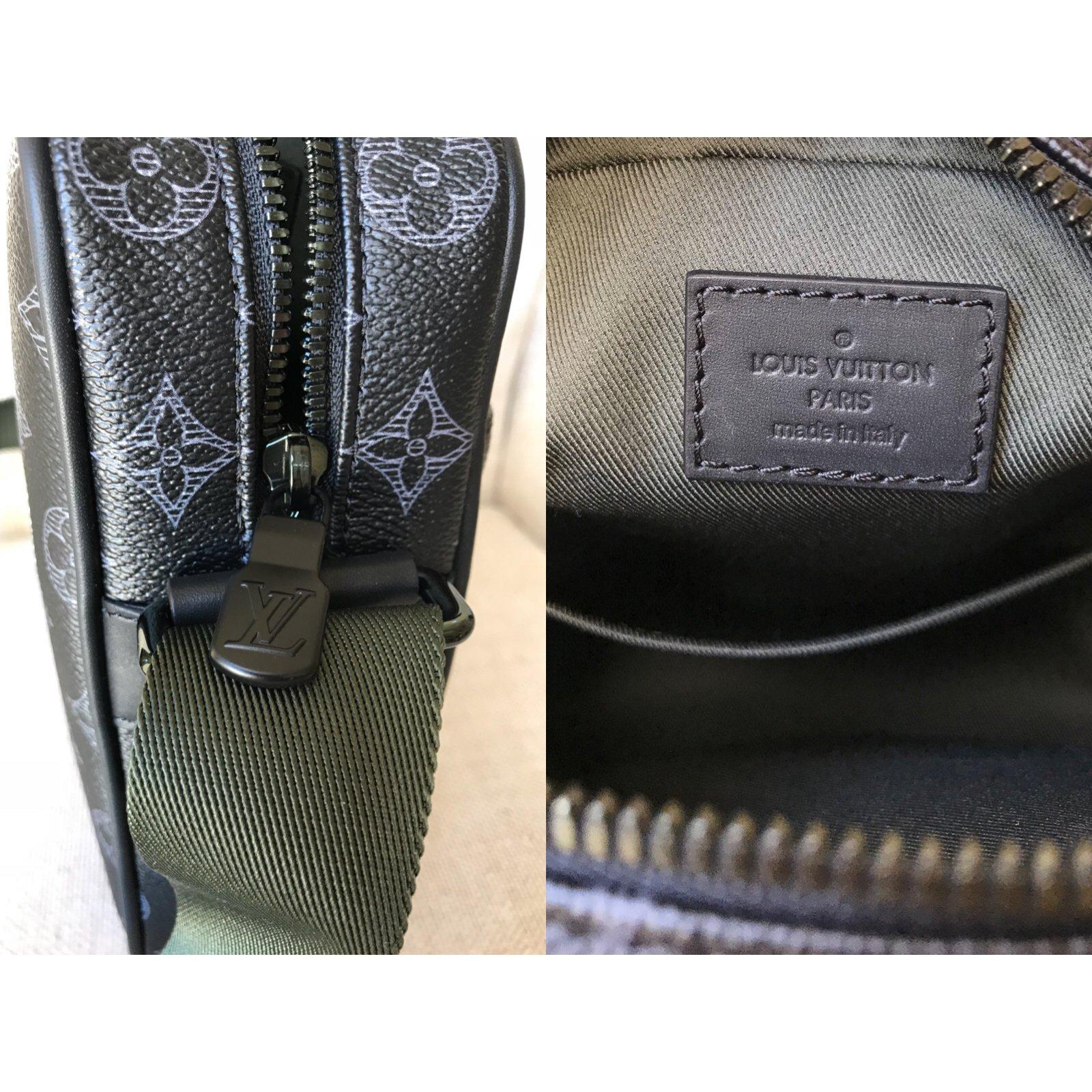 c748470acd7c3 Louis Vuitton Danube PM Vivienne Monogram Éclipse Canvas Messenger Bag Bags  Briefcases Linen Multiple colors ref.68334 - Joli Closet