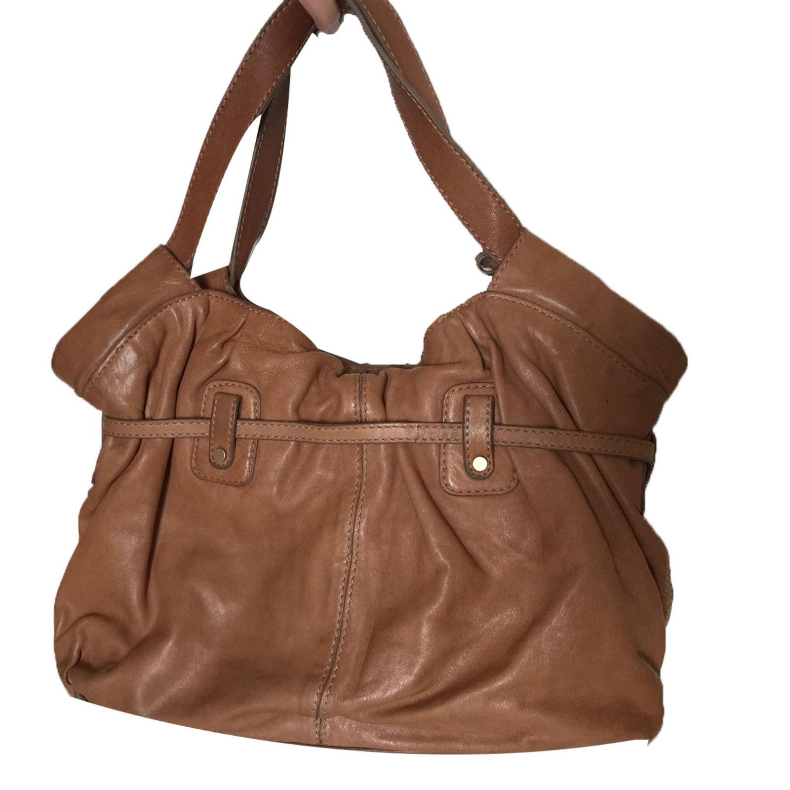 0cd40b9c795f Michael Kors Handbags Handbags Leather Caramel ref.68716 - Joli Closet