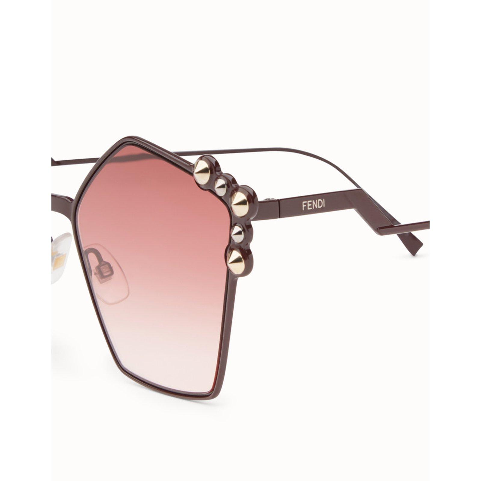 95f659e577 Fendi Sunglasses CAT EYE Purple new 2018 Sunglasses Metal Black