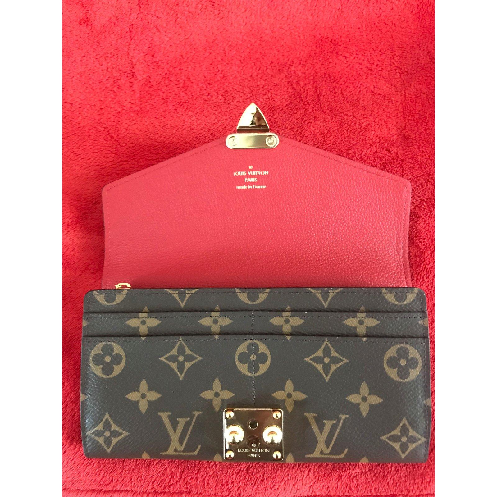 Louis Vuitton Monogram Pallas Long Wallet M58414 Cherry Purses 7055bfcf80acc