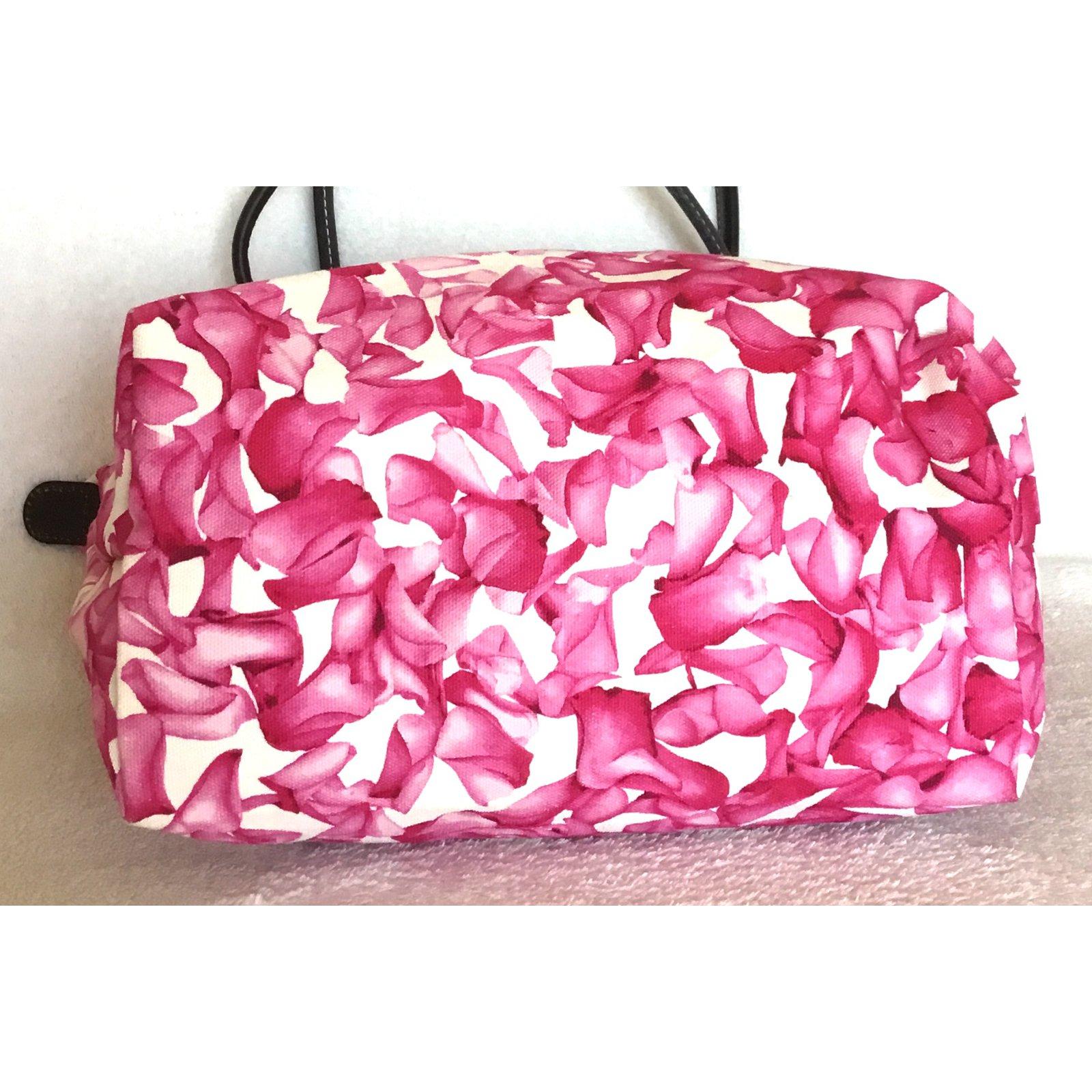 Tissu 69977 Joli Longchamp Rose Ref Sacs À Main Darshan Closet 9IH2ED