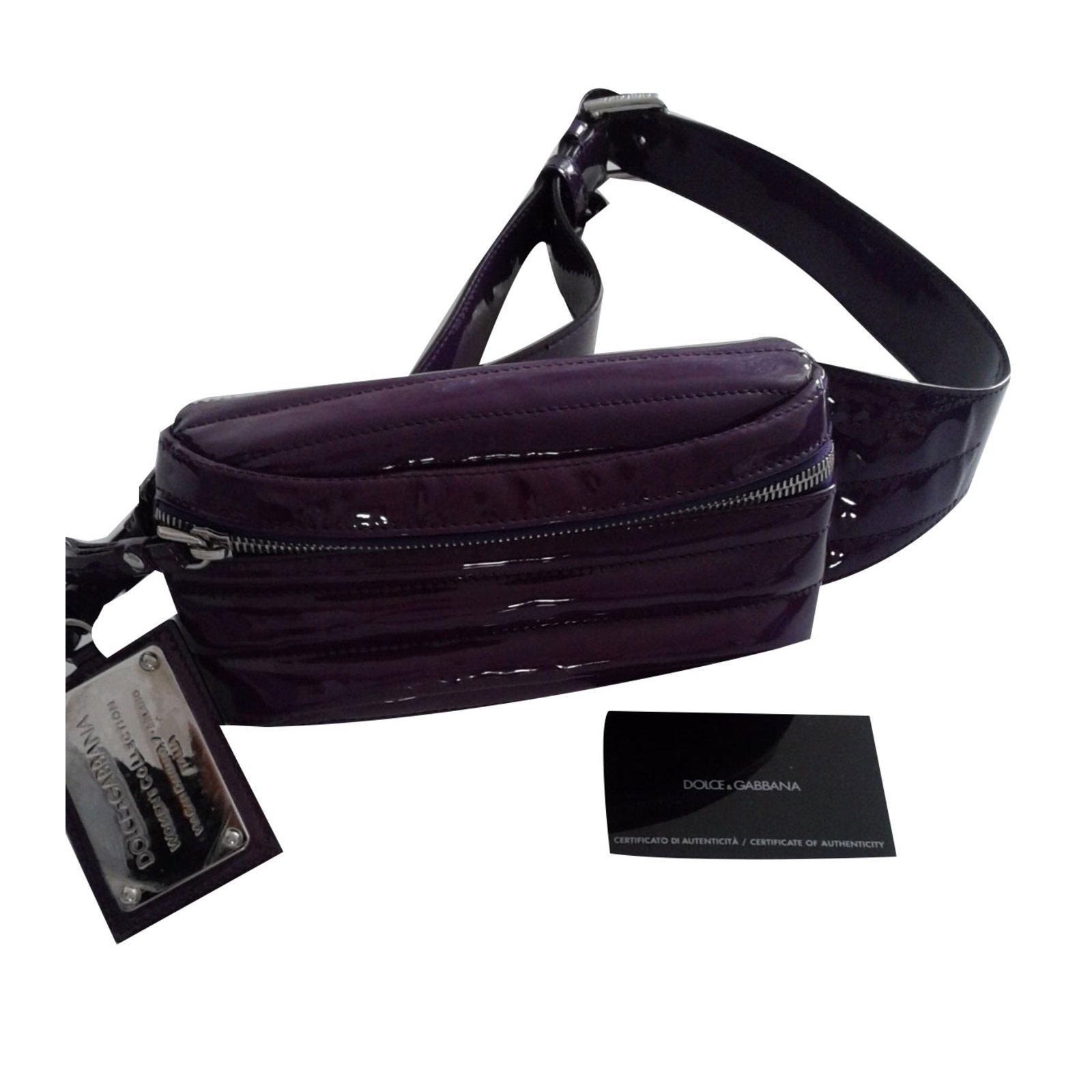 9b9dcb9276 Dolce   Gabbana Clutch bags Clutch bags Patent leather Purple ref.70233 -  Joli Closet
