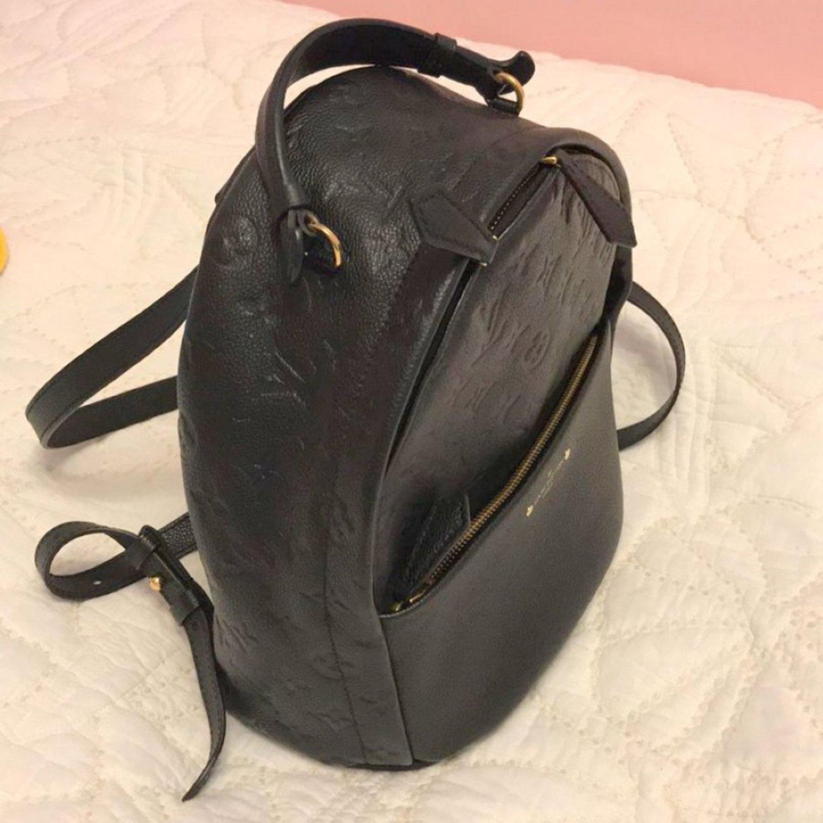 77b17ccdd1a8 Sacs à dos Louis Vuitton SORBONE Autre Noir ref.70621 - Joli Closet