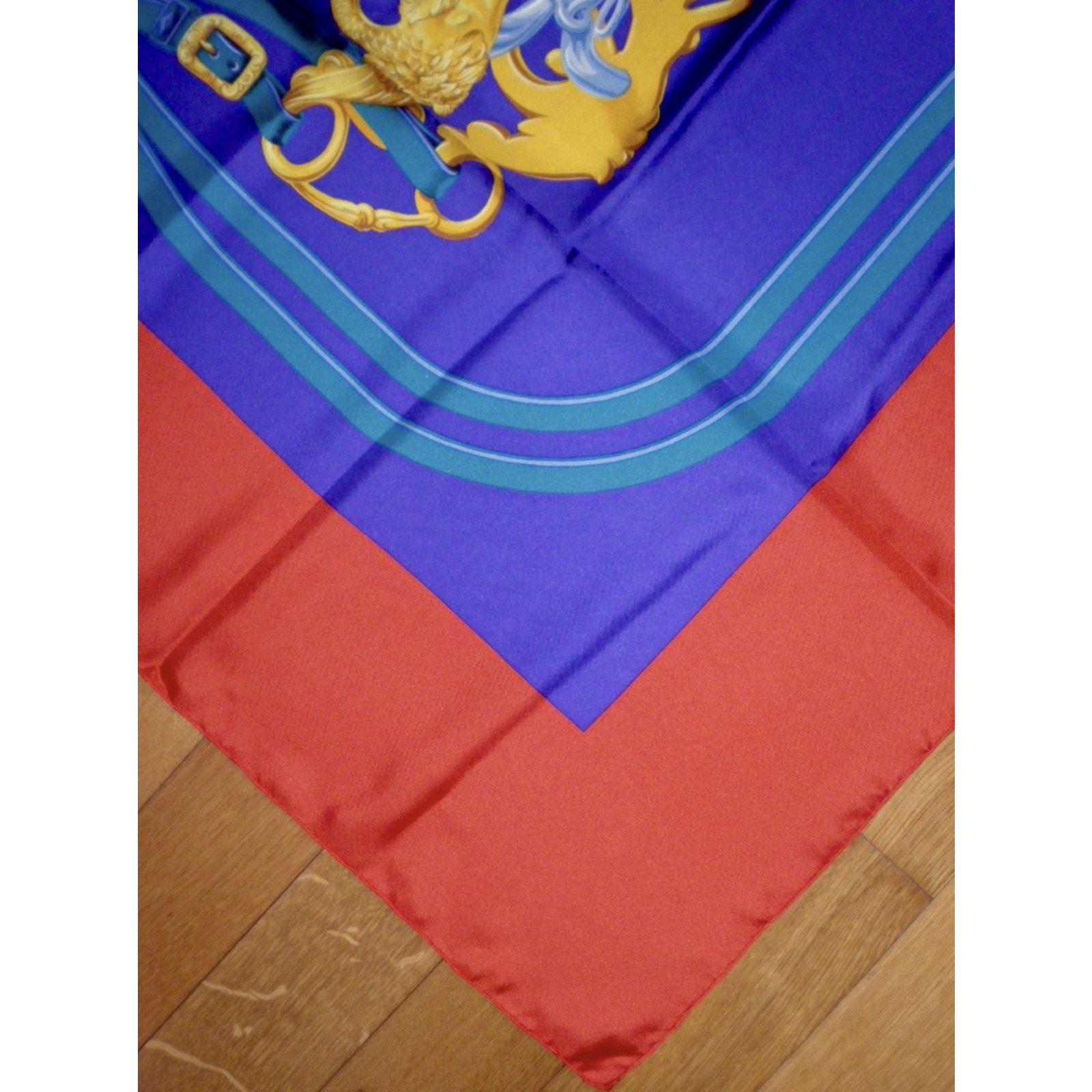 a13eb57e5ff Carrés Hermès BRIDES de GALA Soie Multicolore ref.71182 - Joli Closet