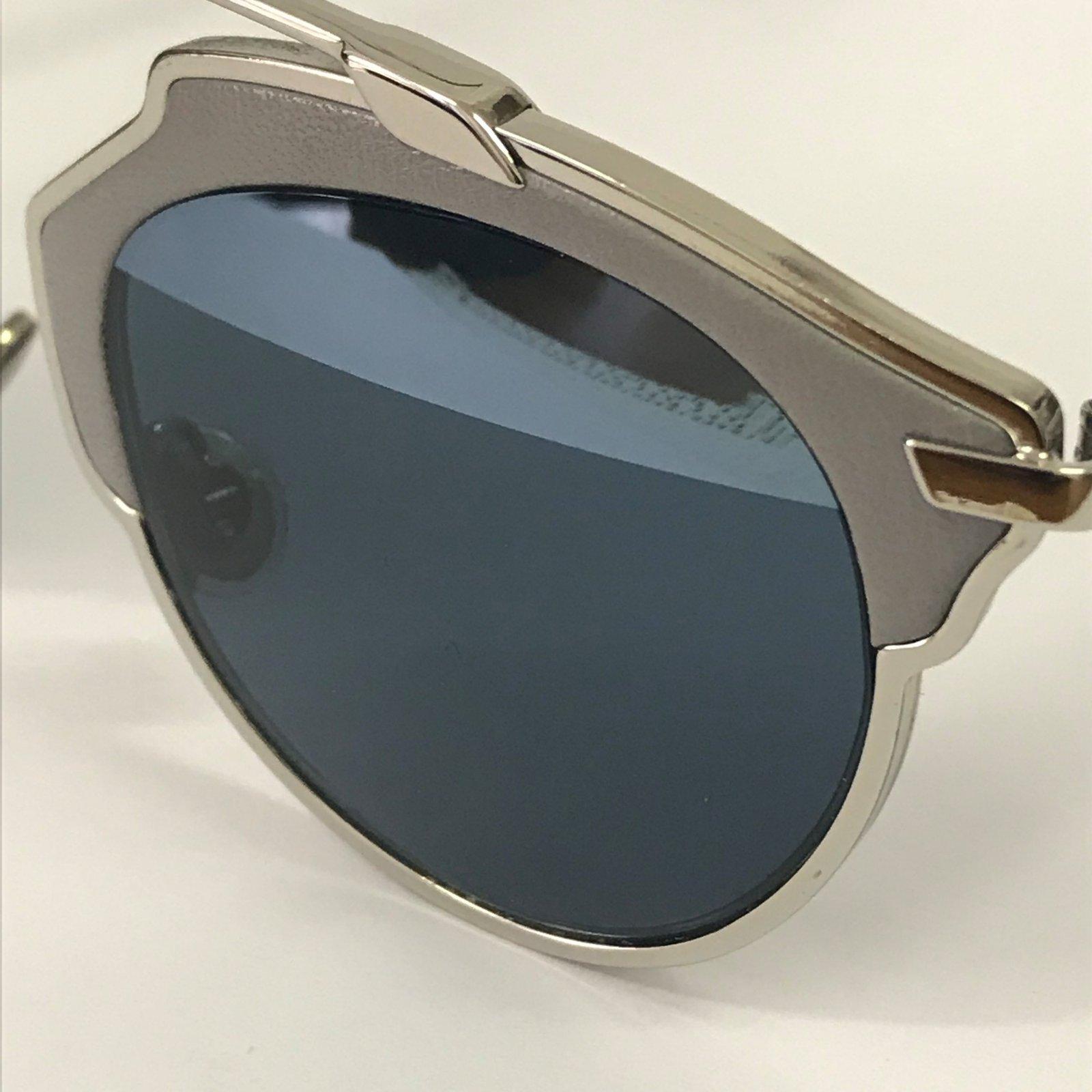 fa87df54ec5a Lunettes Dior Lunettes de soleil Cuir