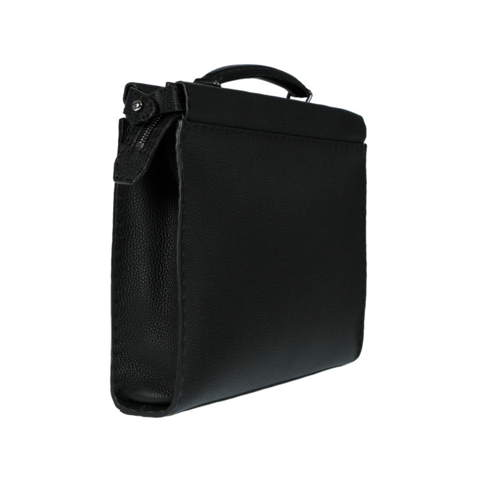 a20e3ddc8ab Fendi Fendi mens bag new Bags Briefcases Leather Black ref.72152 - Joli  Closet