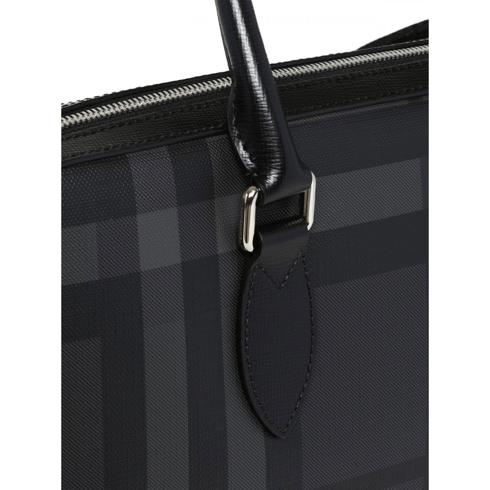 Burberry London Check Slim Barrow tote Bags Briefcases Other Grey ref.72222  - Joli Closet 4ae5f07d4aba3