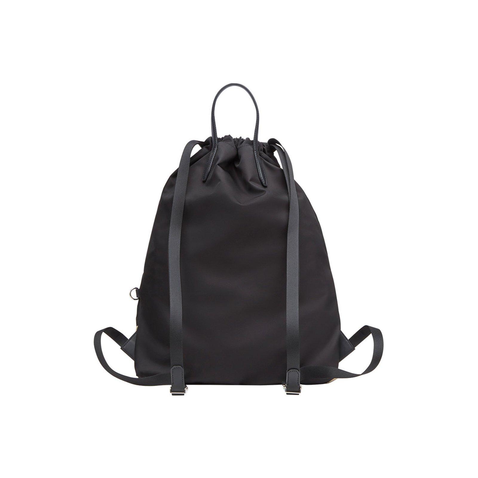 5a6535b8c10 Fendi Fendi backpack new Bags Briefcases nylon Black ref.72279 - Joli Closet