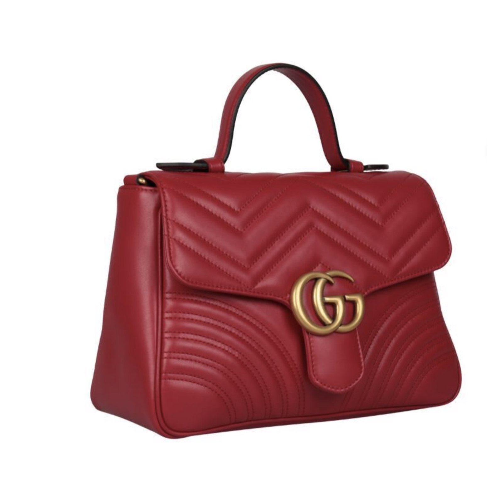 93fca0a6552a Facebook · Pin This. Gucci Handbags Handbags Leather Red ref.73299