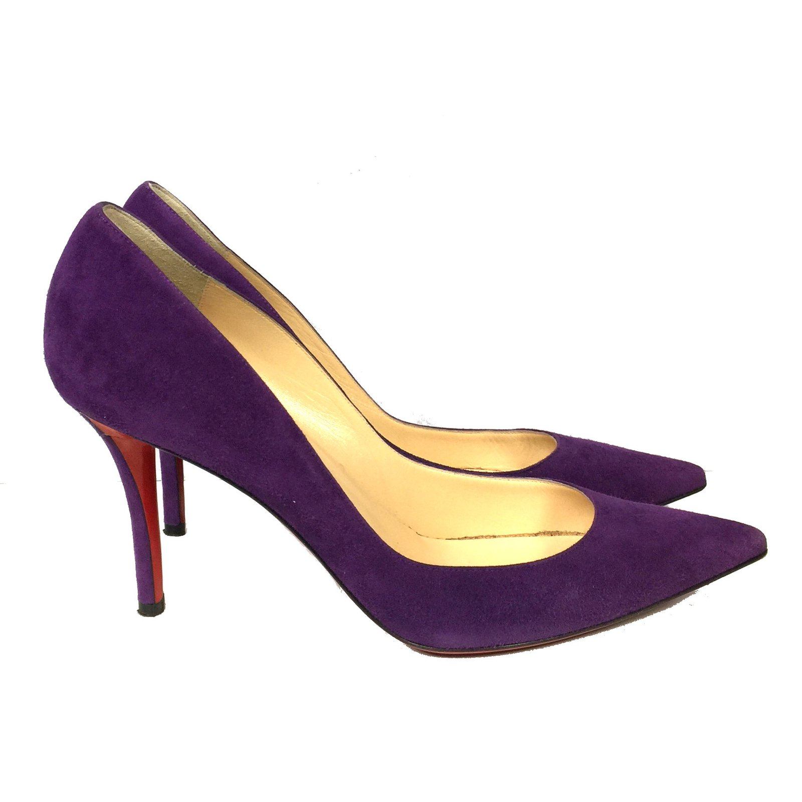 Apostrophy 85 Purple Suede Shoes