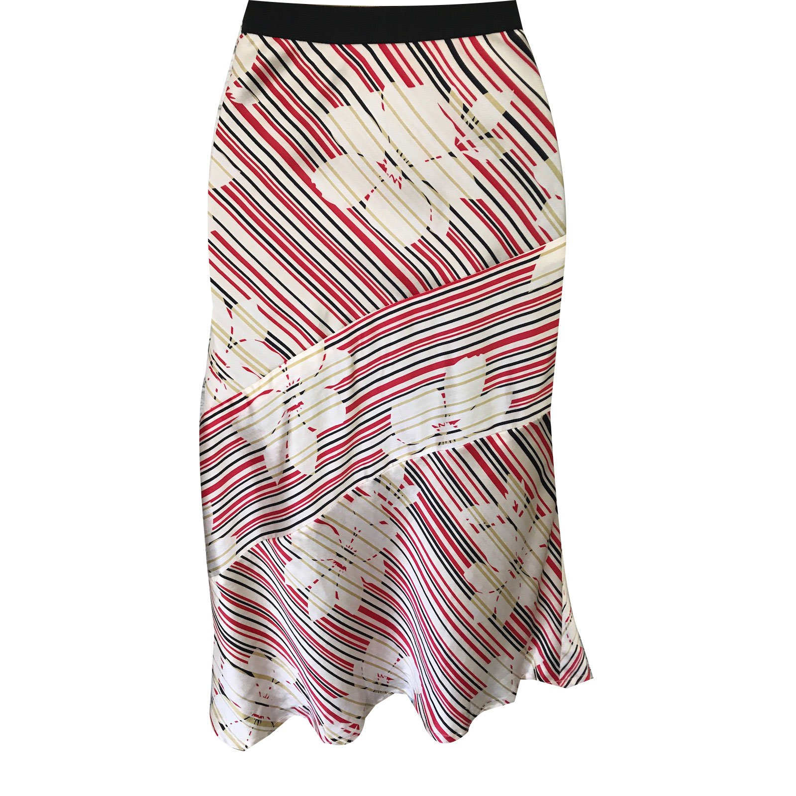 7e7f4541e9ca Ted Baker Skirt Skirts Silk Black