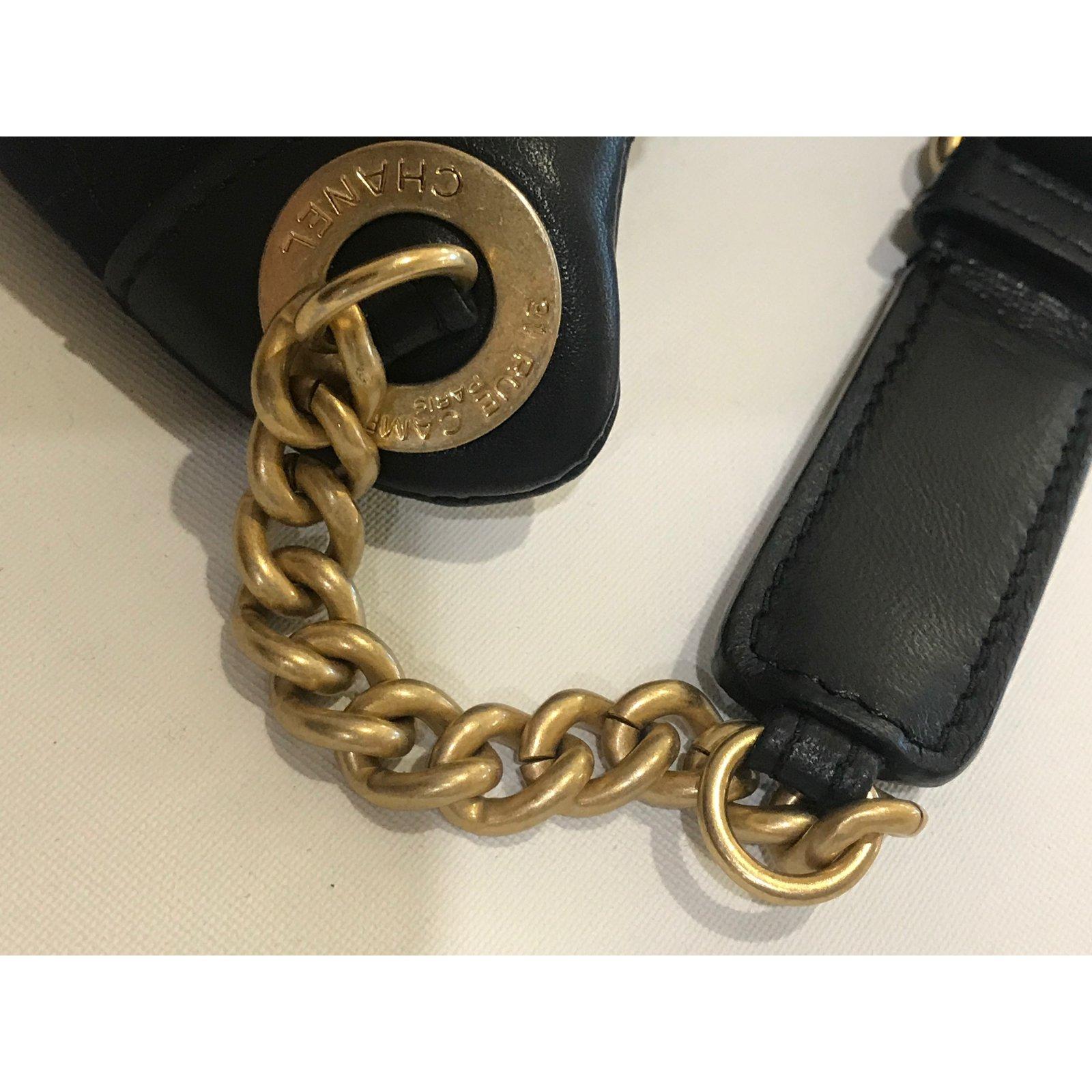 1b42cbaa7df2b Chanel CHANEL Belt 2018 Bag Handbags Wool Navy blue ref.74157 - Joli Closet