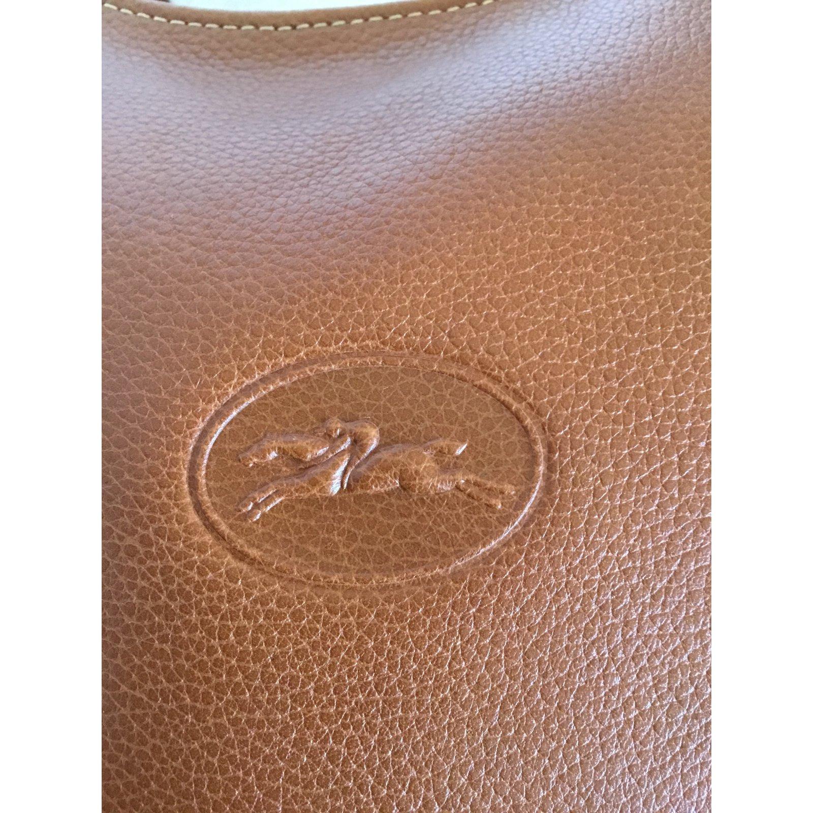 pelle 74505 mano Joli di Ref Borse a Armadio Longchamp in cognac ITqUyCw
