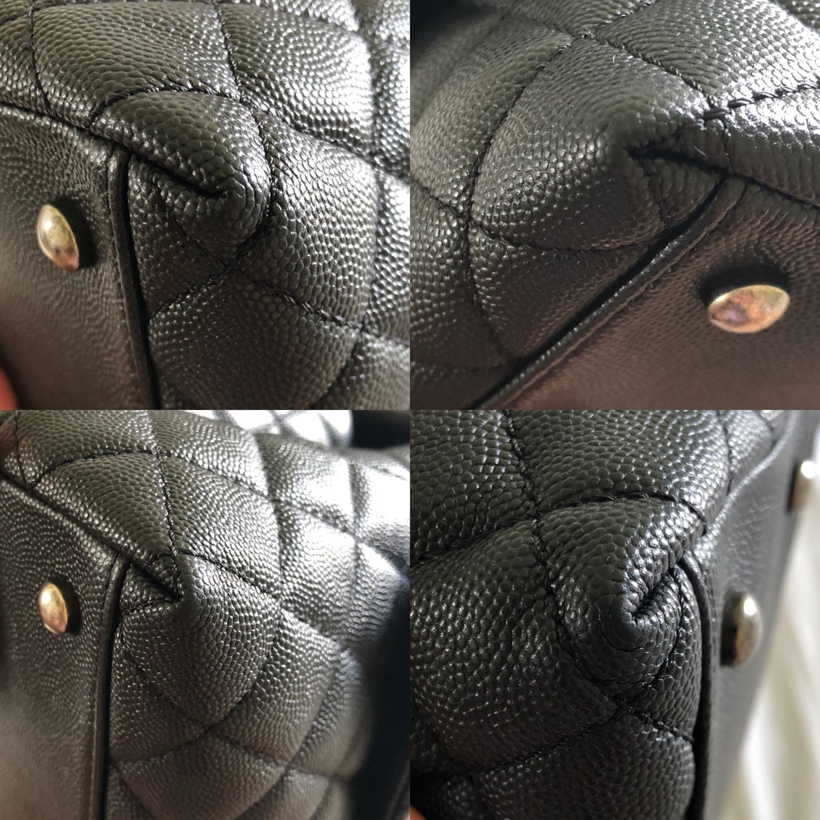 bb48f3966e463c Chanel Coco Handle in Ruthenium Hardware Handbags Leather Black ref.75133 - Joli  Closet