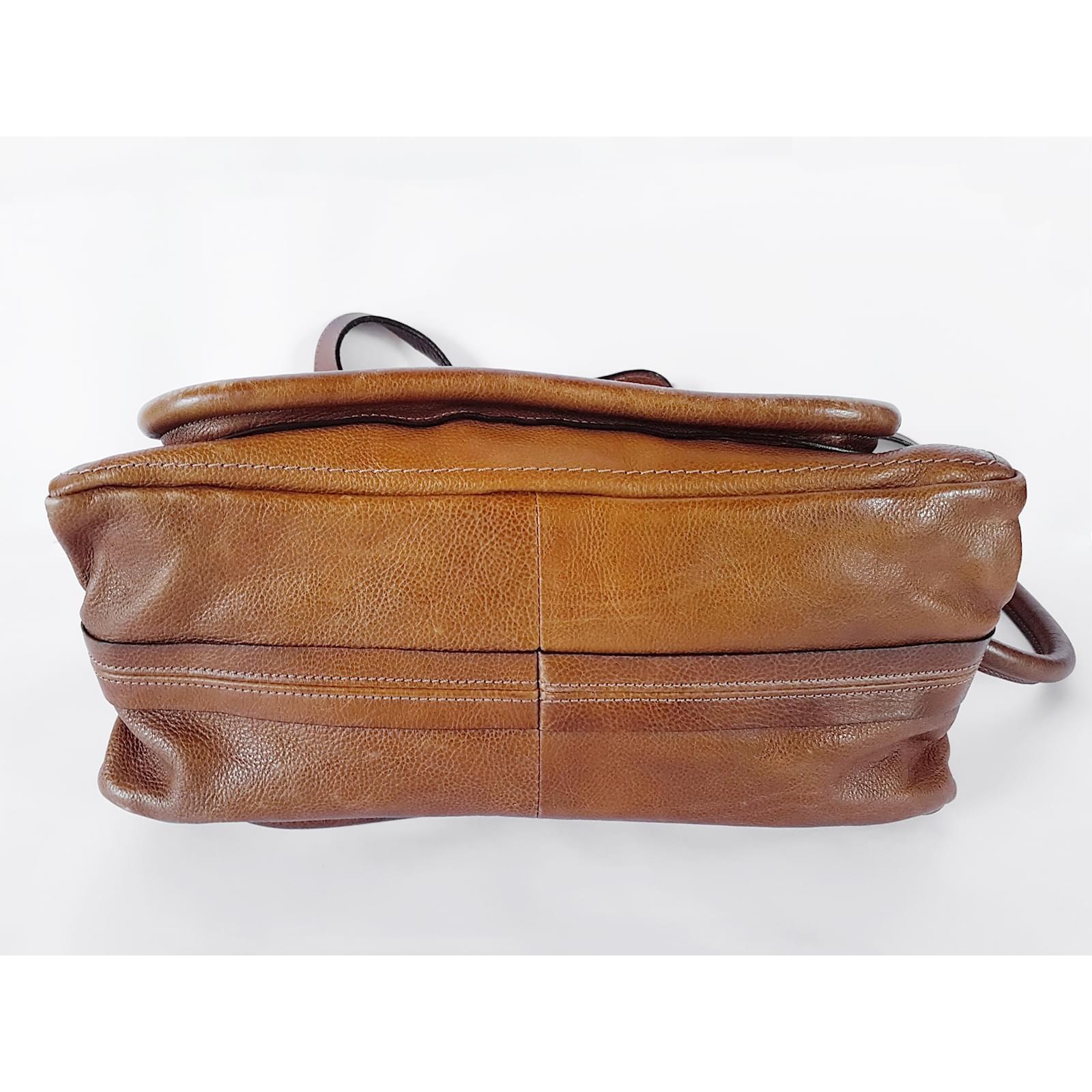 Chloé Paraty mittlere Tasche Handtaschen Leder Braun ref