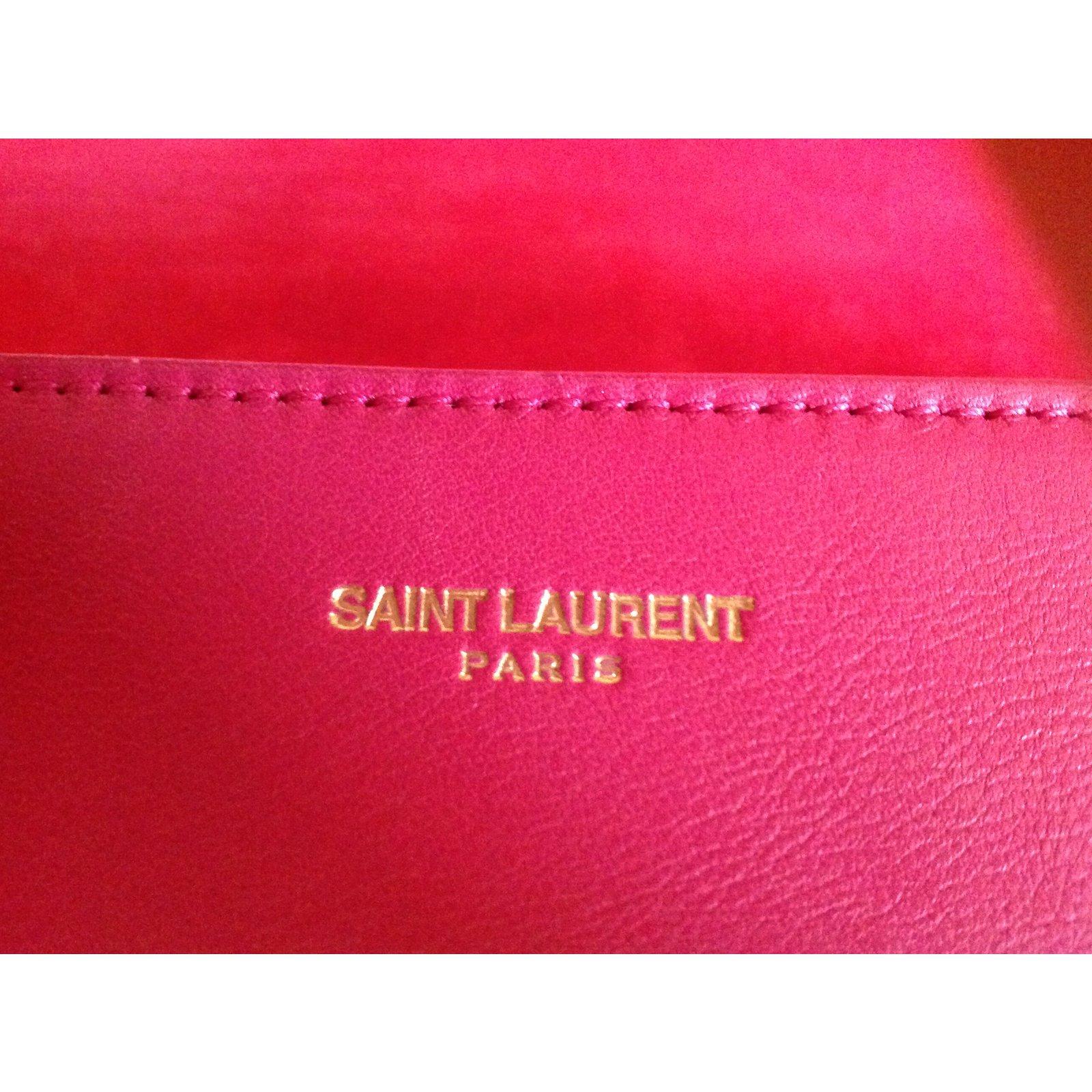 289948c991 Yves Saint Laurent Bag Handbags Leather Pink ref.75778 - Joli Closet