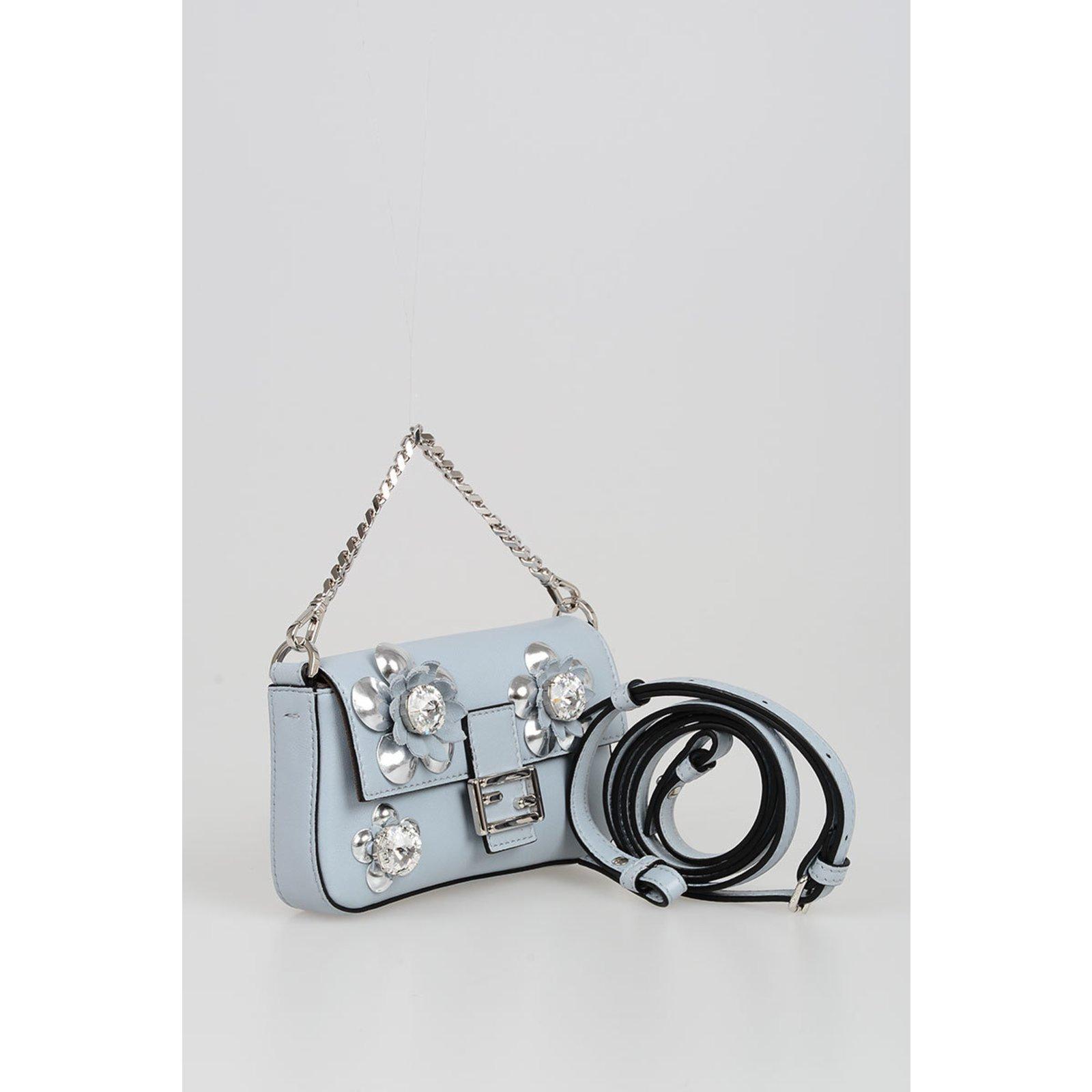 d169c1472b Facebook · Pin This. Fendi Handbags Handbags Leather Blue ref.75904