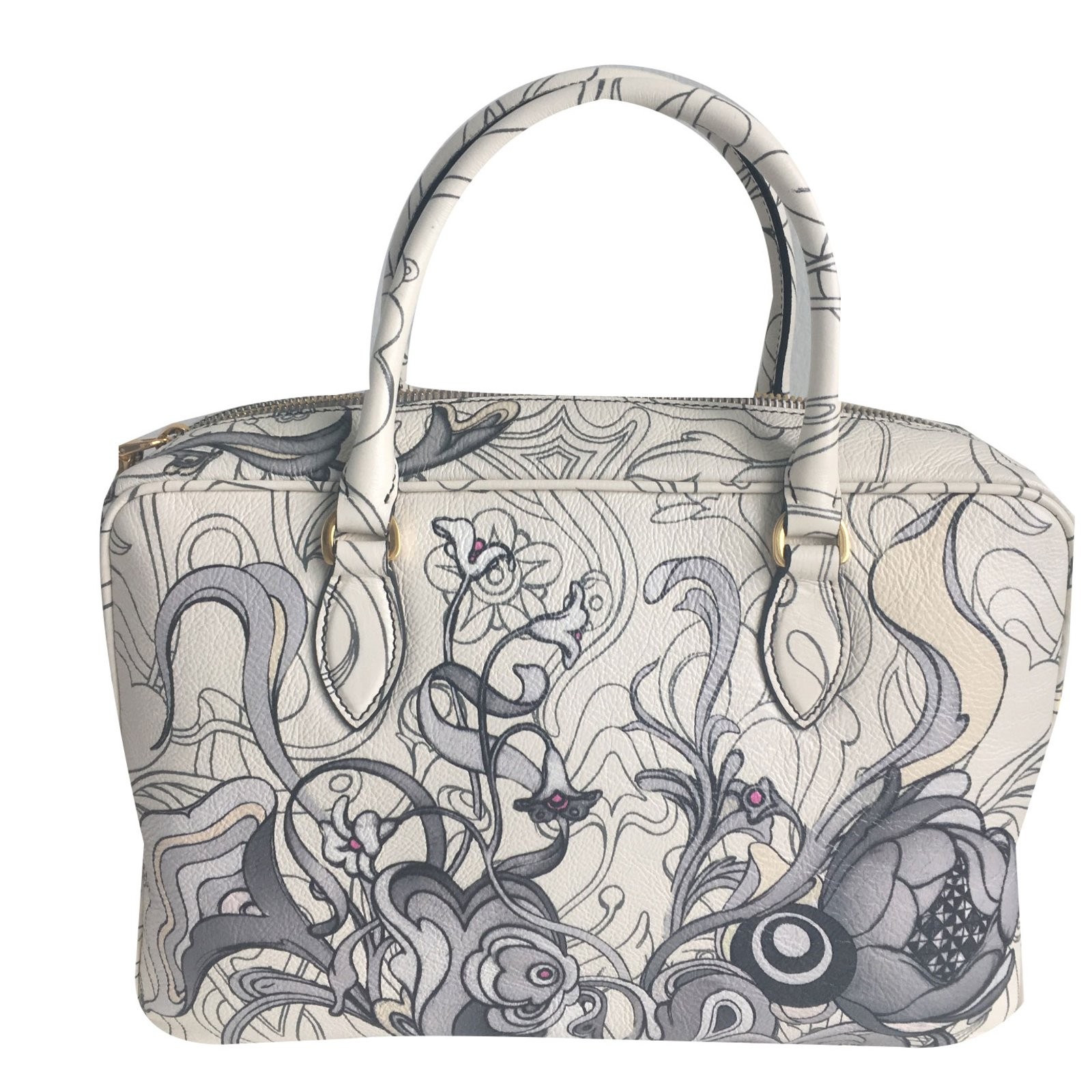 d70d53966da5 Prada Rabbit bag ressort 2018 Collection Handbags Leather Ebony ref.76187 -  Joli Closet