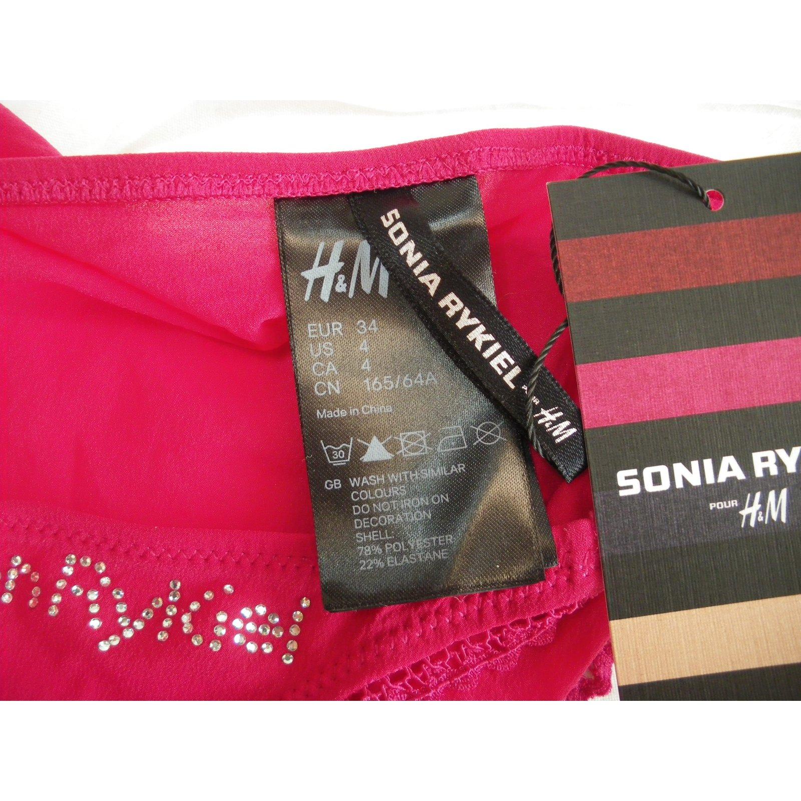 add19f005a2 Sonia Rykiel pour H&M Intimates Intimates Polyester Multiple colors  ref.76189 - Joli Closet