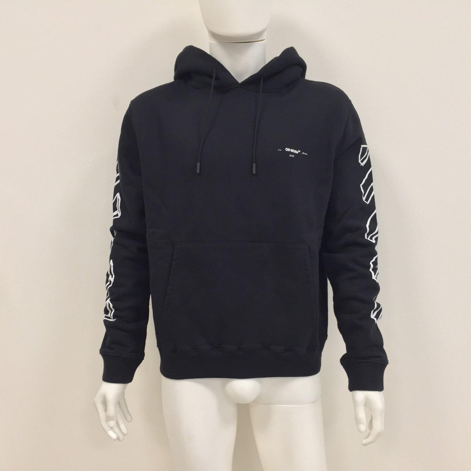 Off White Sweaters Sweaters Cotton Black ref.76274 - Joli Closet a4eec5003