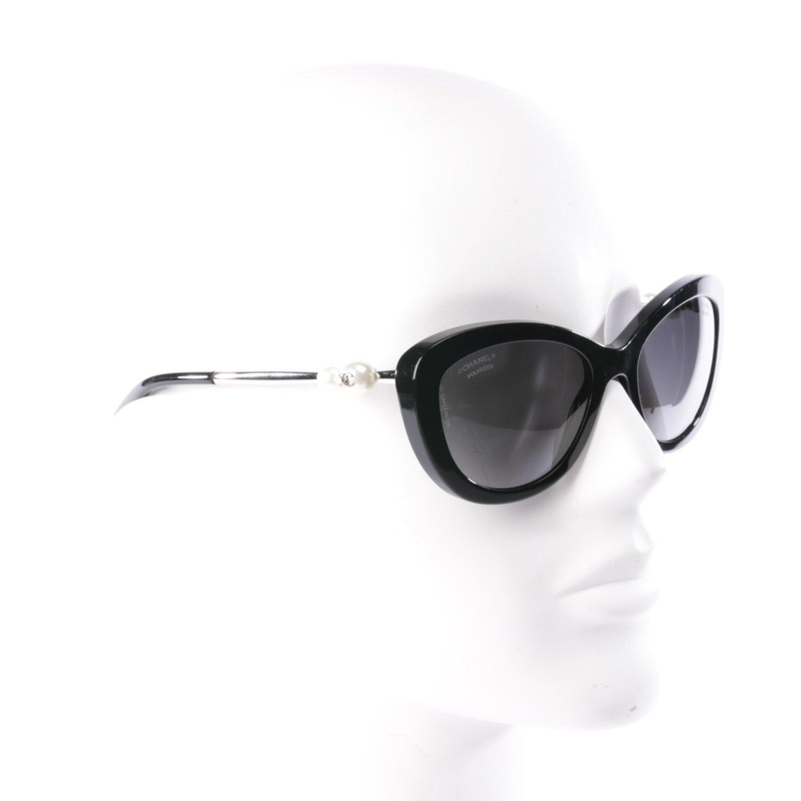 aa041aa36c Chanel Sunglasses 5340-H Sunglasses Plastic Black ref.76601 - Joli Closet