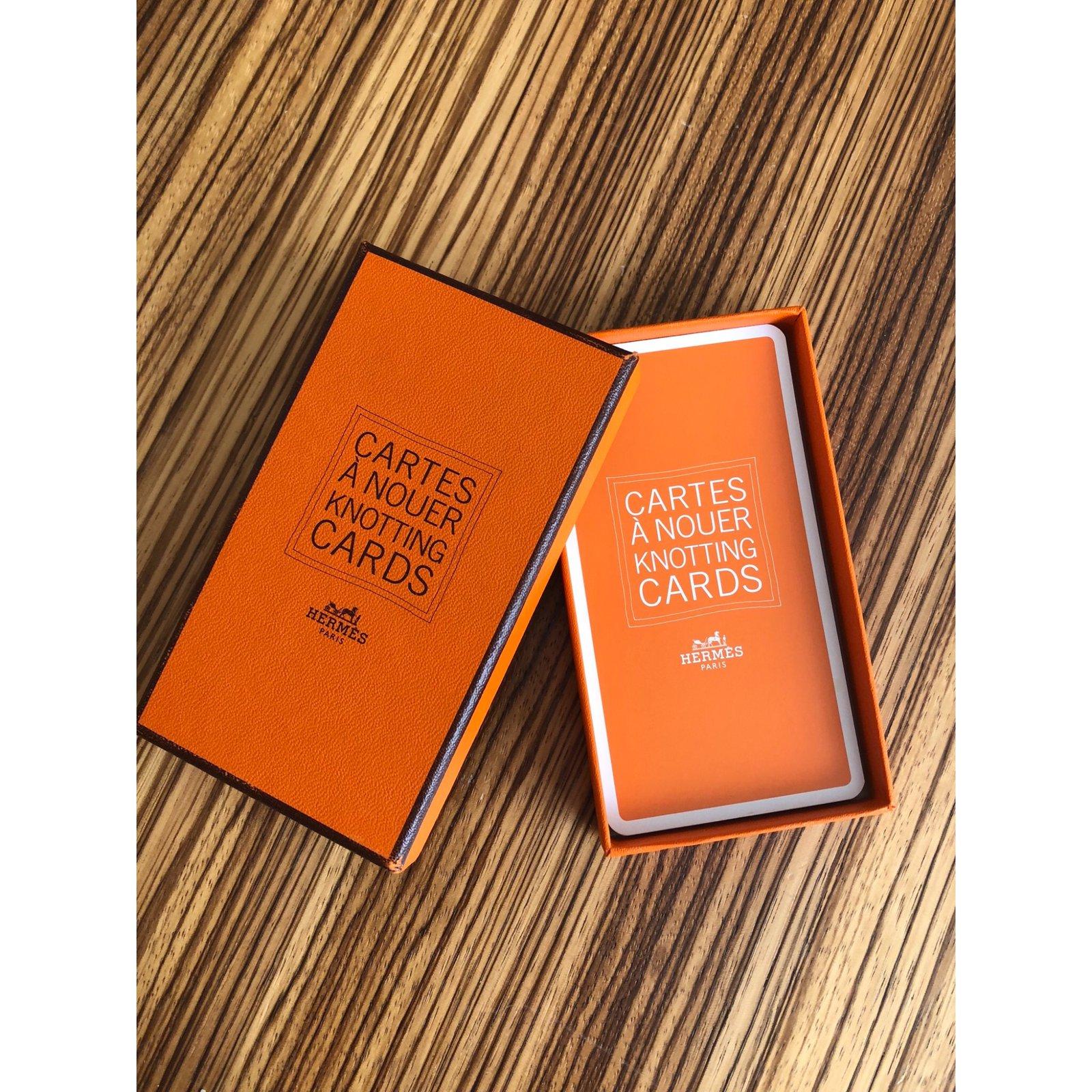 Carte Cadeau Hermes.Cards For Knotting