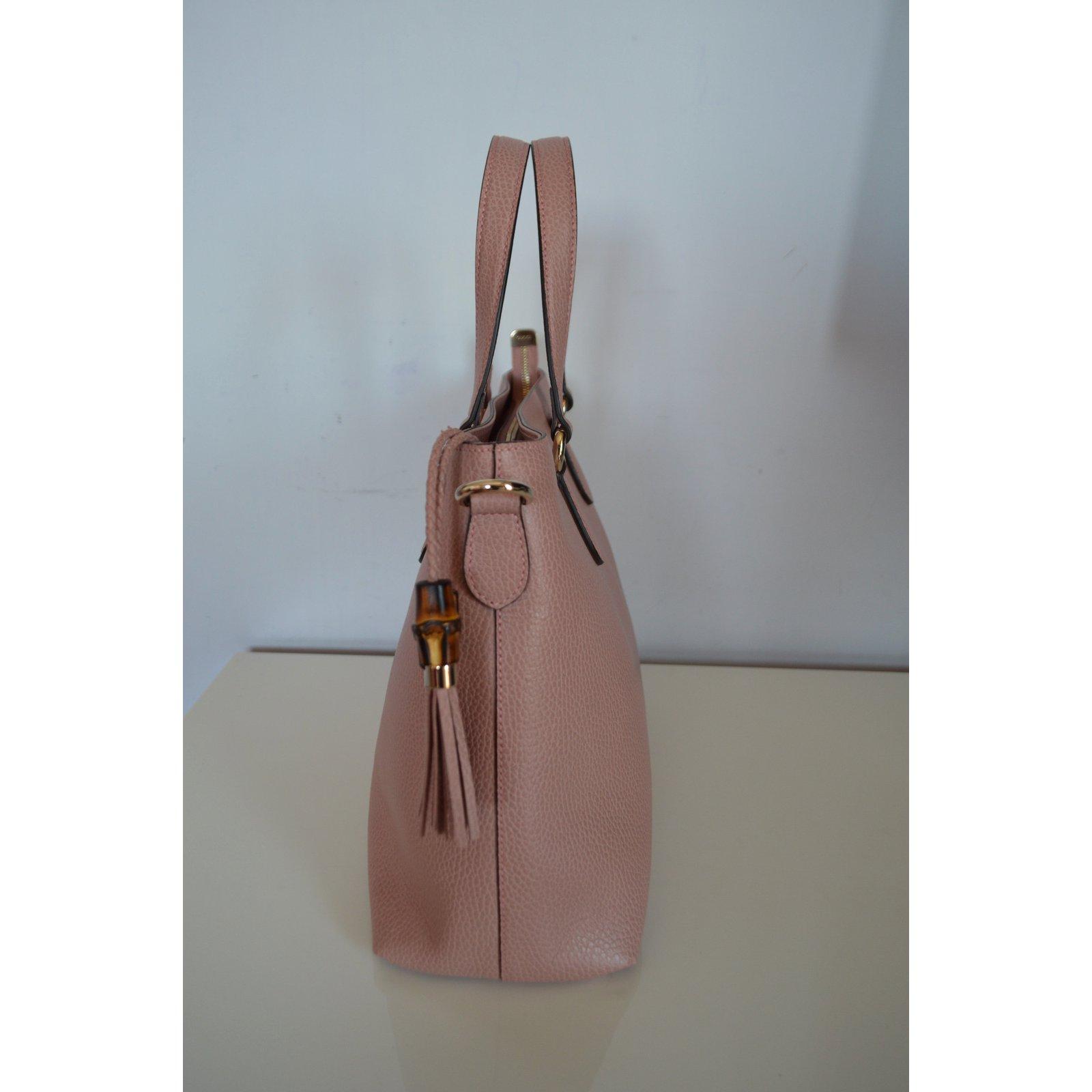 Gucci Handbag Handbags Leather Pink ref.77528 - Joli Closet a5e2a93bdc5cd