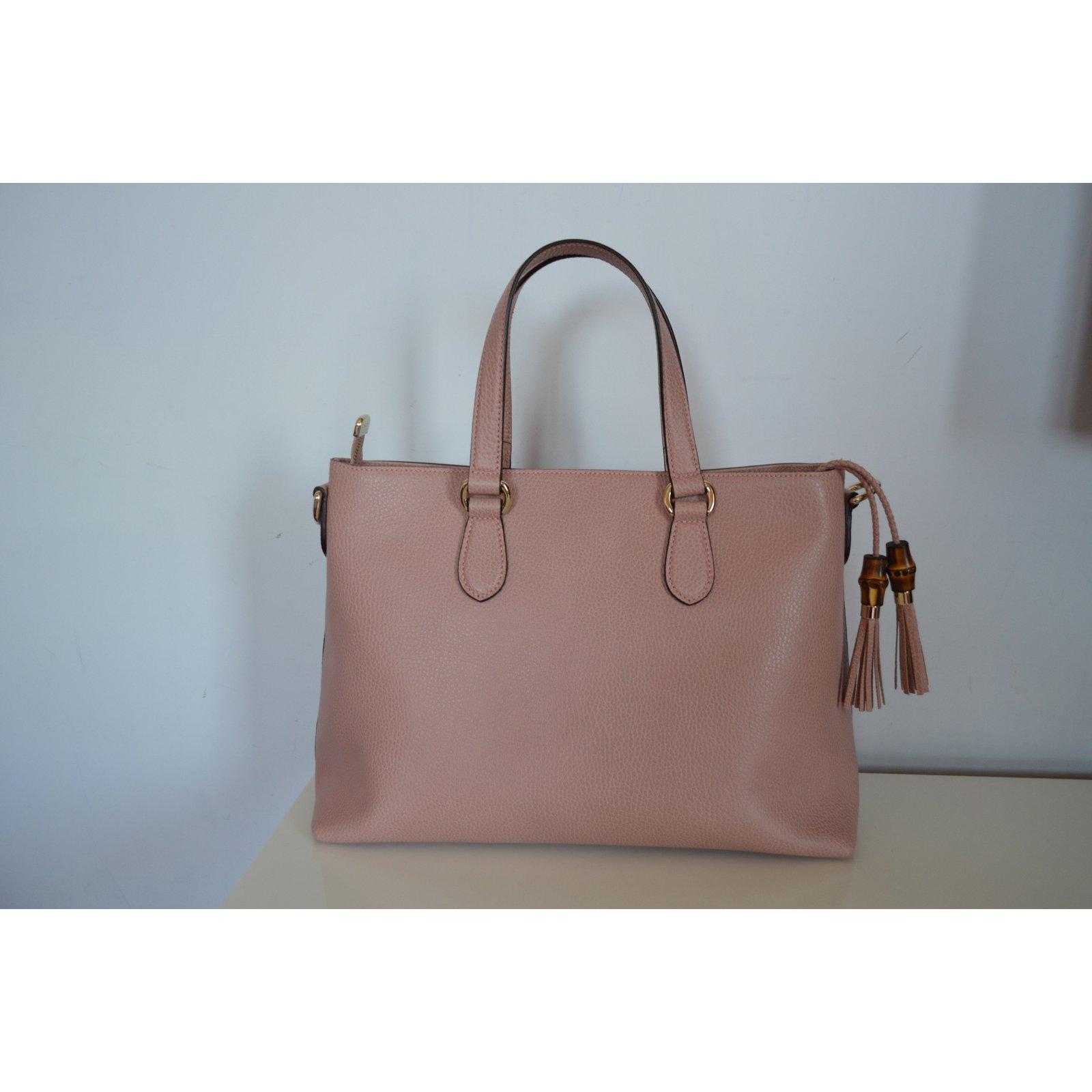 fb832ddce Gucci Handbag Handbags Leather Pink ref.77528 - Joli Closet