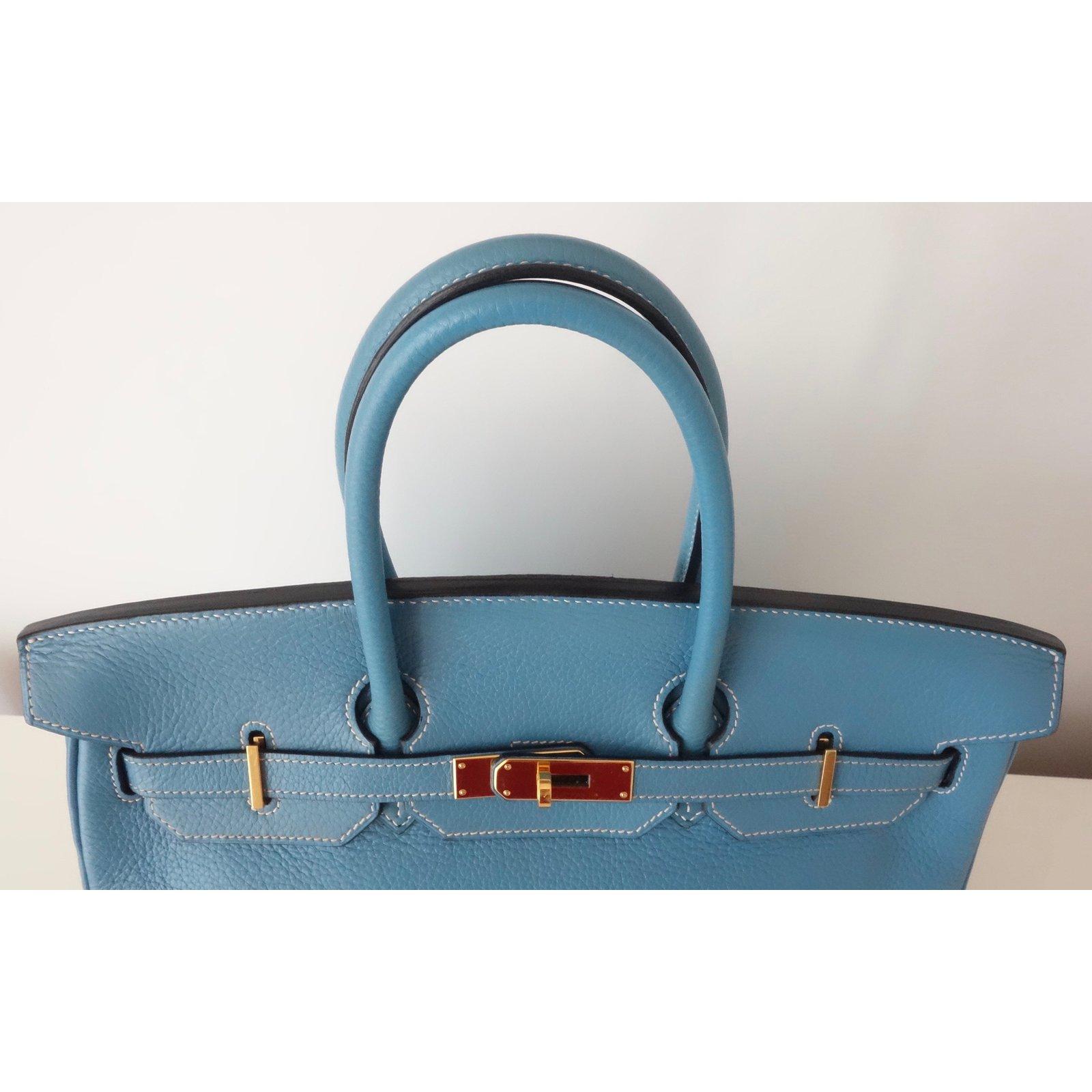 c656c299c862 ... order hermès birkin 35 handbags leather blue ref.77623 joli closet  023c3 b92ad