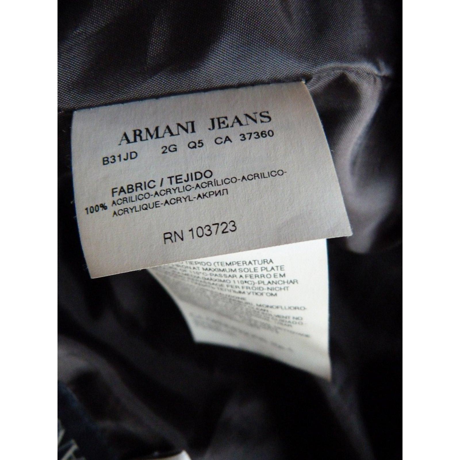 Jeans Veste 103723 Femme Armani Rn WDH2E9I