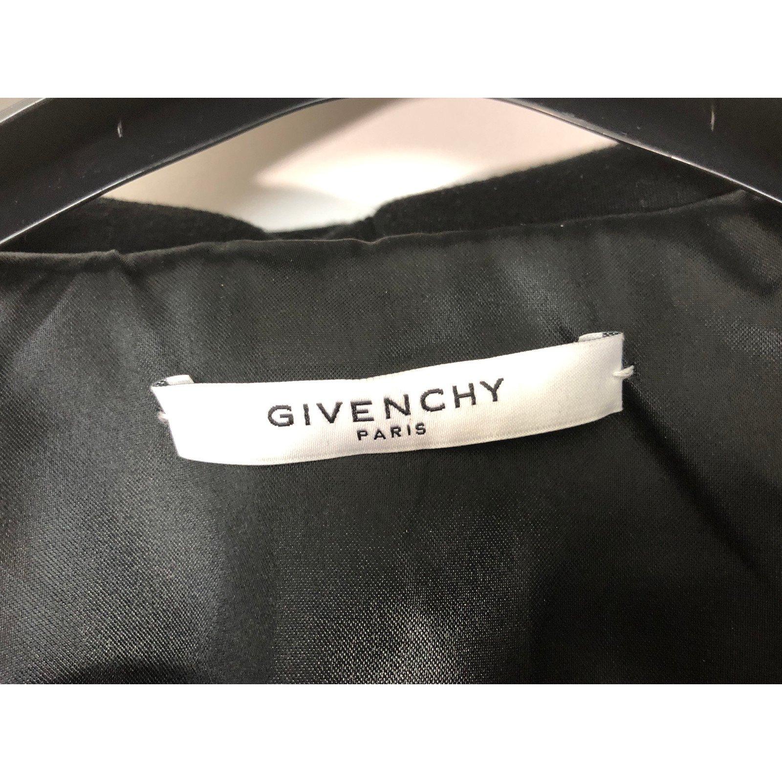 35bd1e5ac98a1 Givenchy Jacket Jackets Lambskin Black ref.78226 - Joli Closet