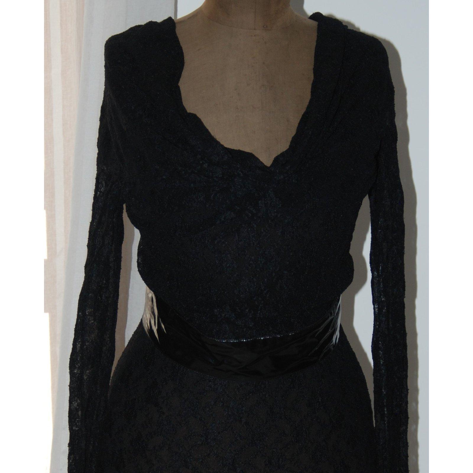 21f7452ba21 Dolce   Gabbana Dresses Dresses Lace Black ref.78489 - Joli Closet