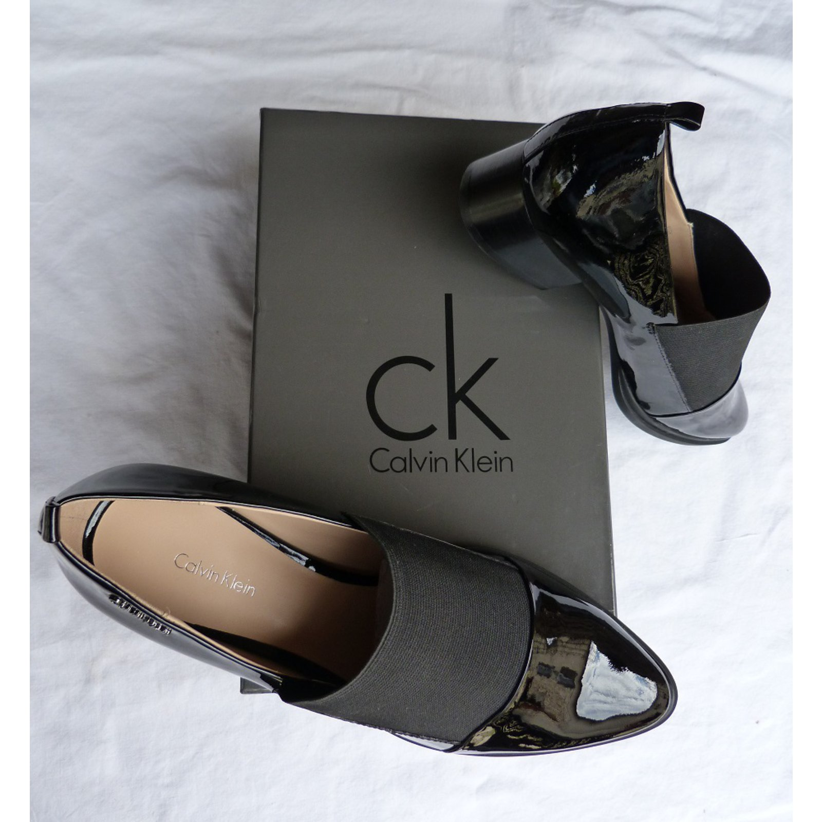 Vernis Chaussures Klein Homme Calvin N80yvOPmnw
