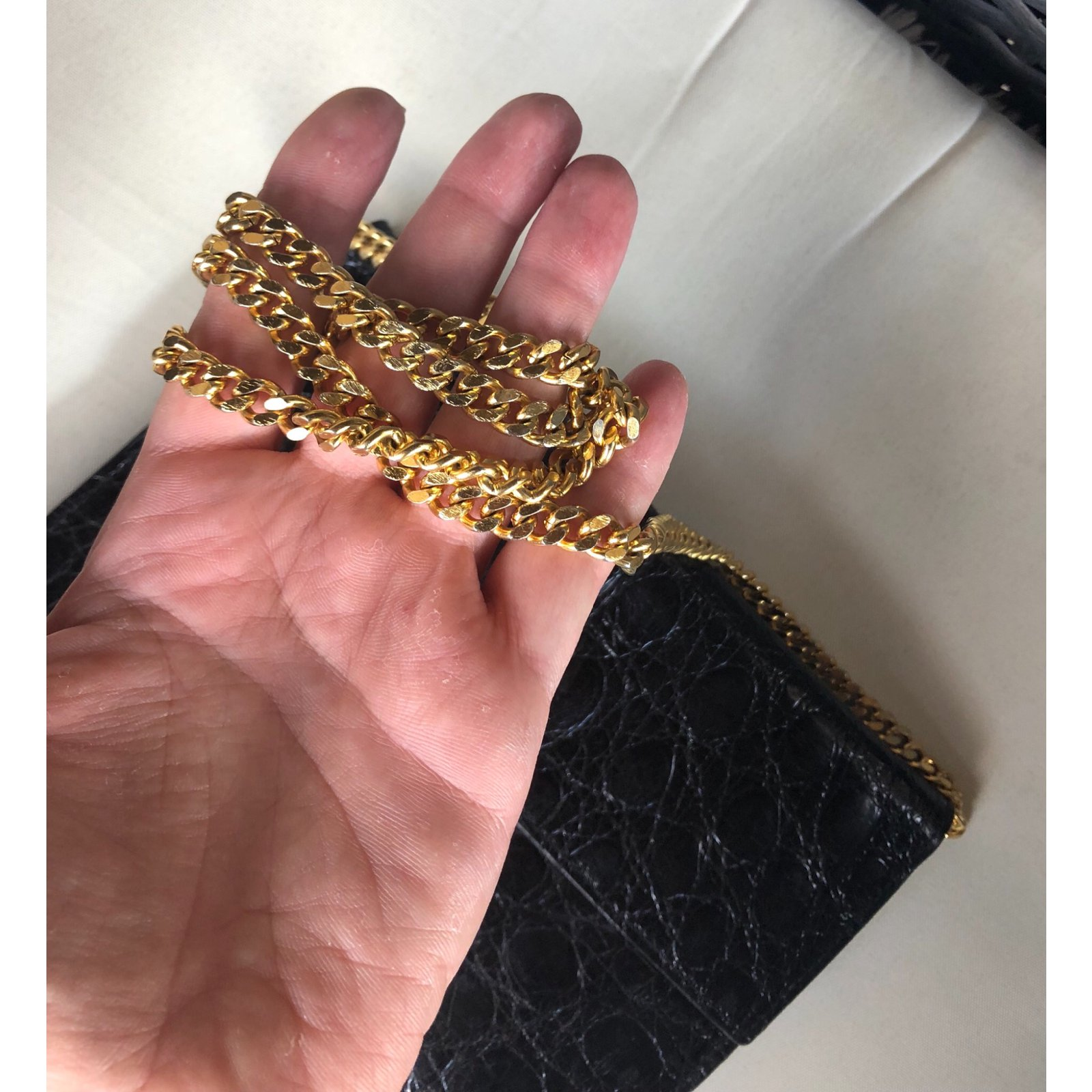 8ec9b61f4c70 Facebook · Pin This. Céline Clutch bags Clutch bags Exotic leather Black ref .79080