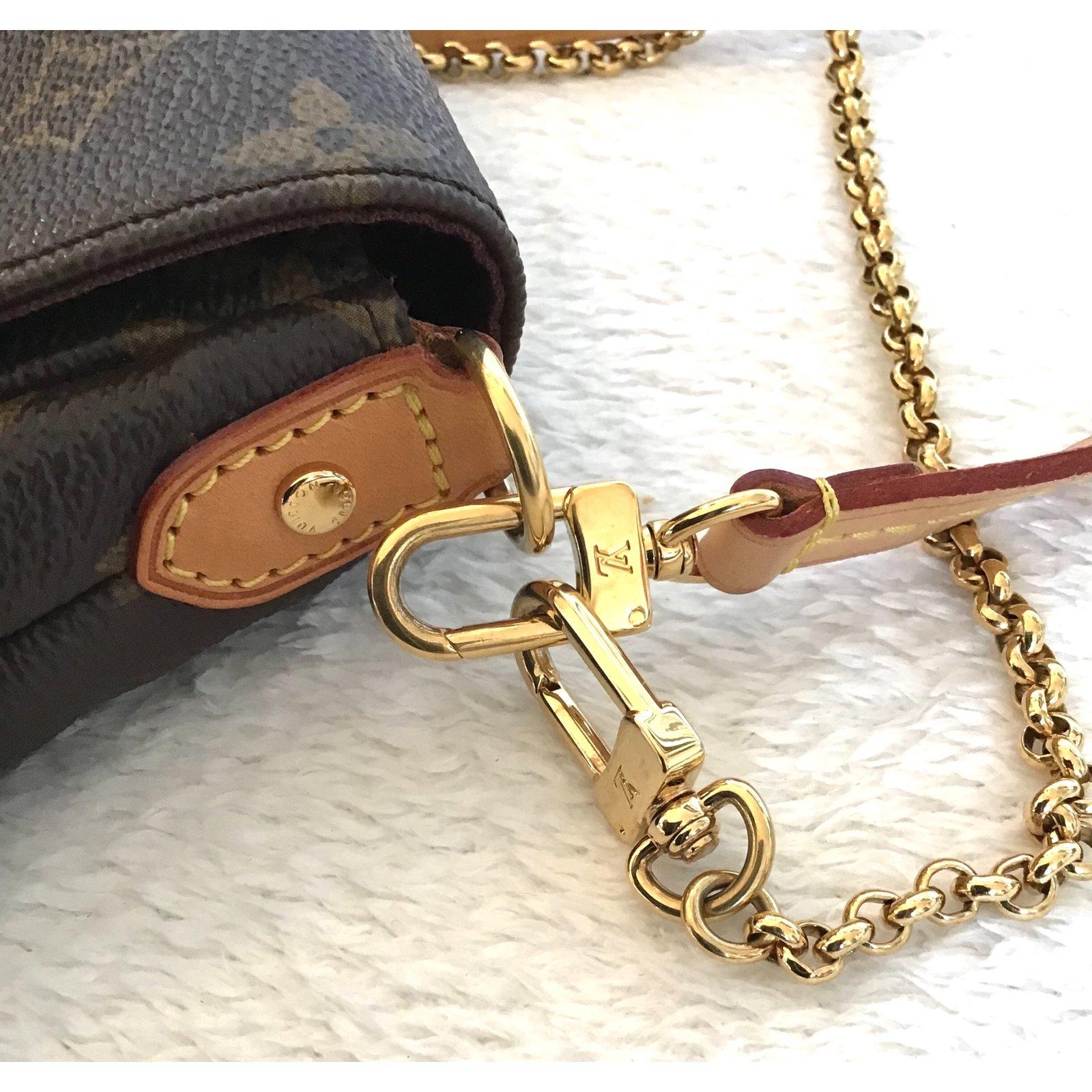 208ab9c92969 Louis Vuitton Handbags Handbags Leather Brown ref.79502 - Joli Closet