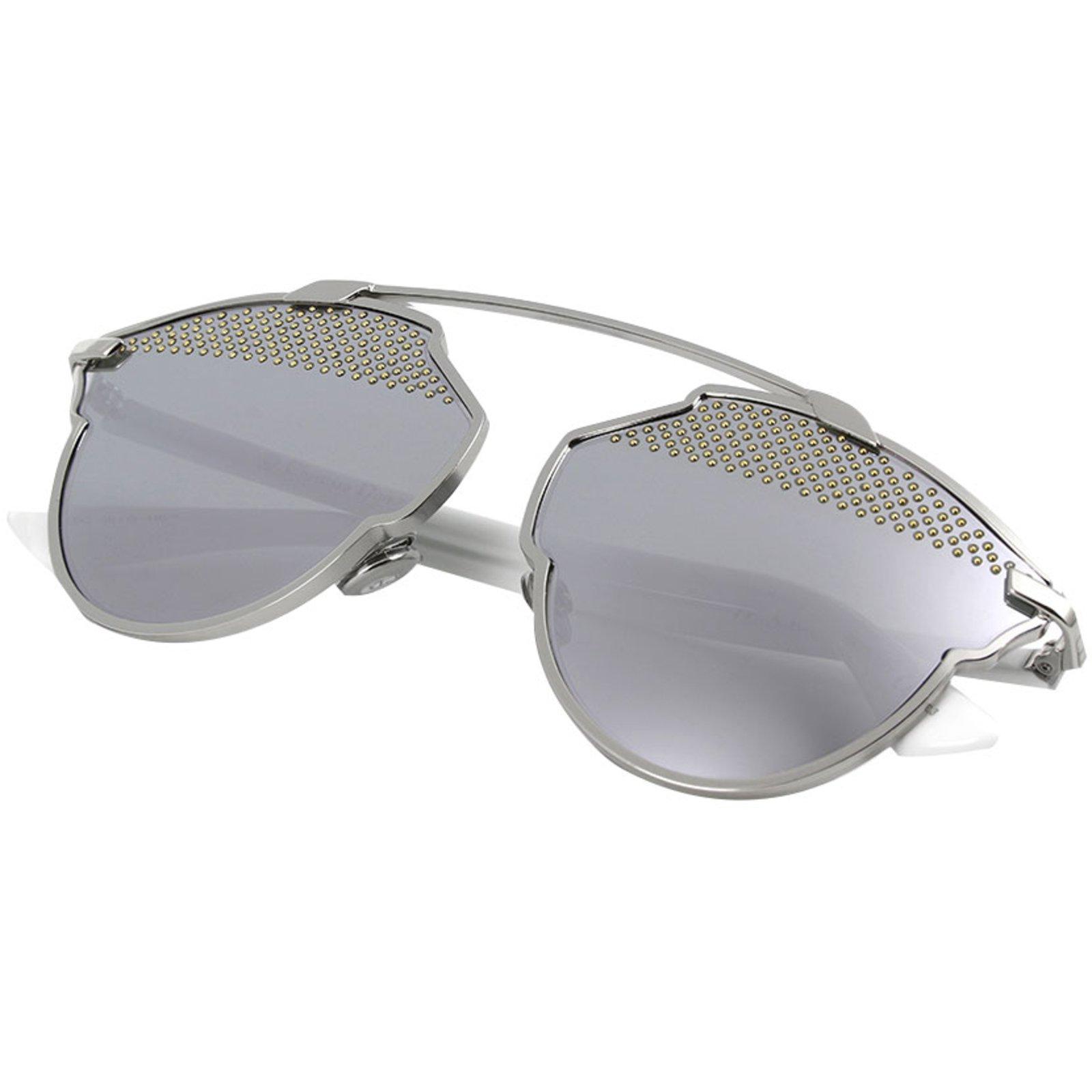 Lunettes Dior Dior diorsoreal-85l (dc) dior so real sunglasses lunettes  Métal Argenté ref.80695 - Joli Closet 3eff9d4b3fc3