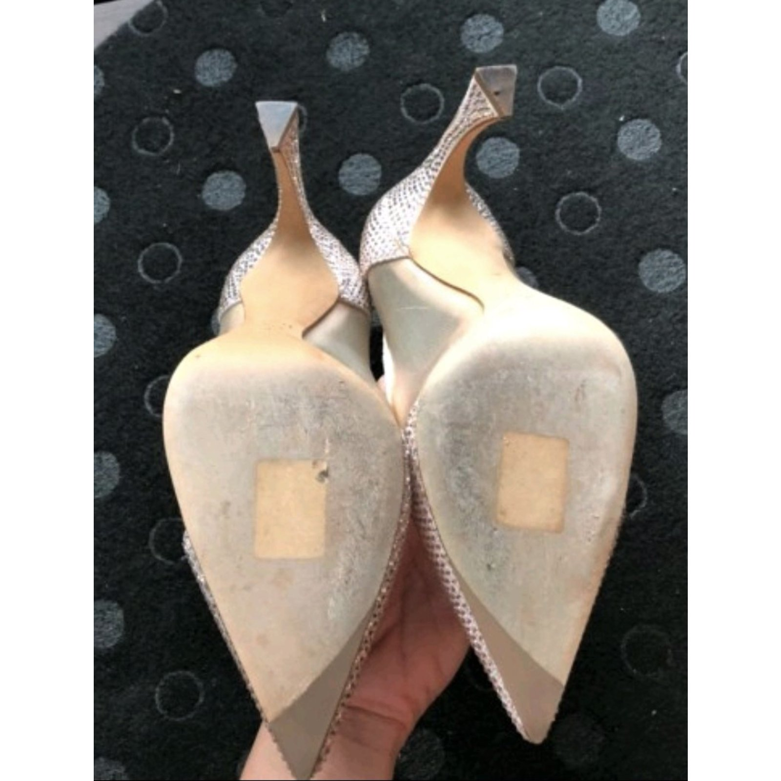 a52d0a7b816 Christian Dior Nude swarovski heels shoes EU 36