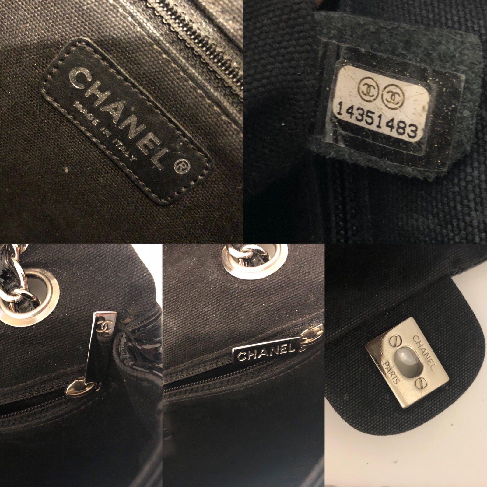 ffb09716786ea1 Chanel TIMELESS Handbags Patent leather Black ref.81777 - Joli Closet