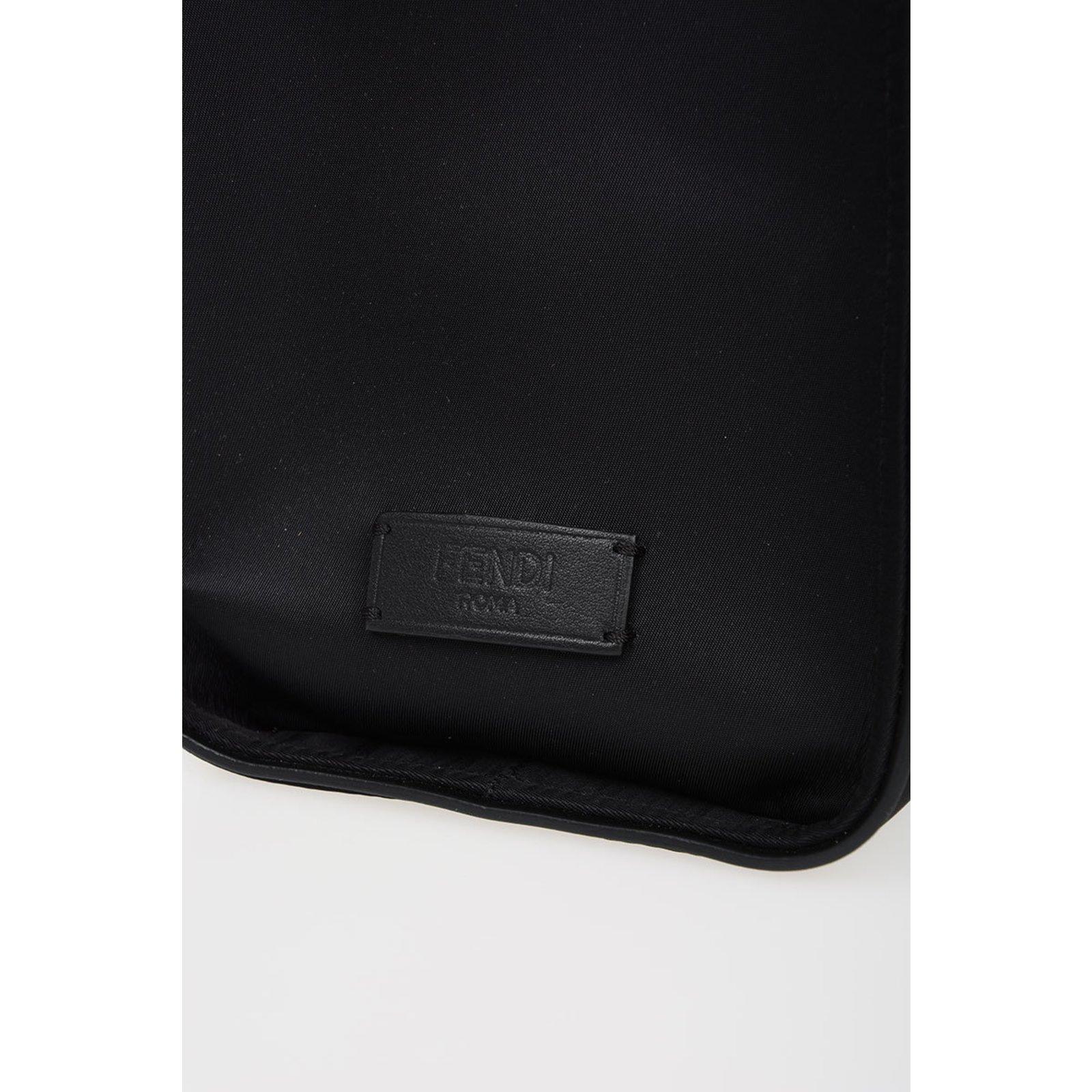 5f01f0b0946 Fendi monster bag Bags Briefcases nylon Black ref.82153 - Joli Closet